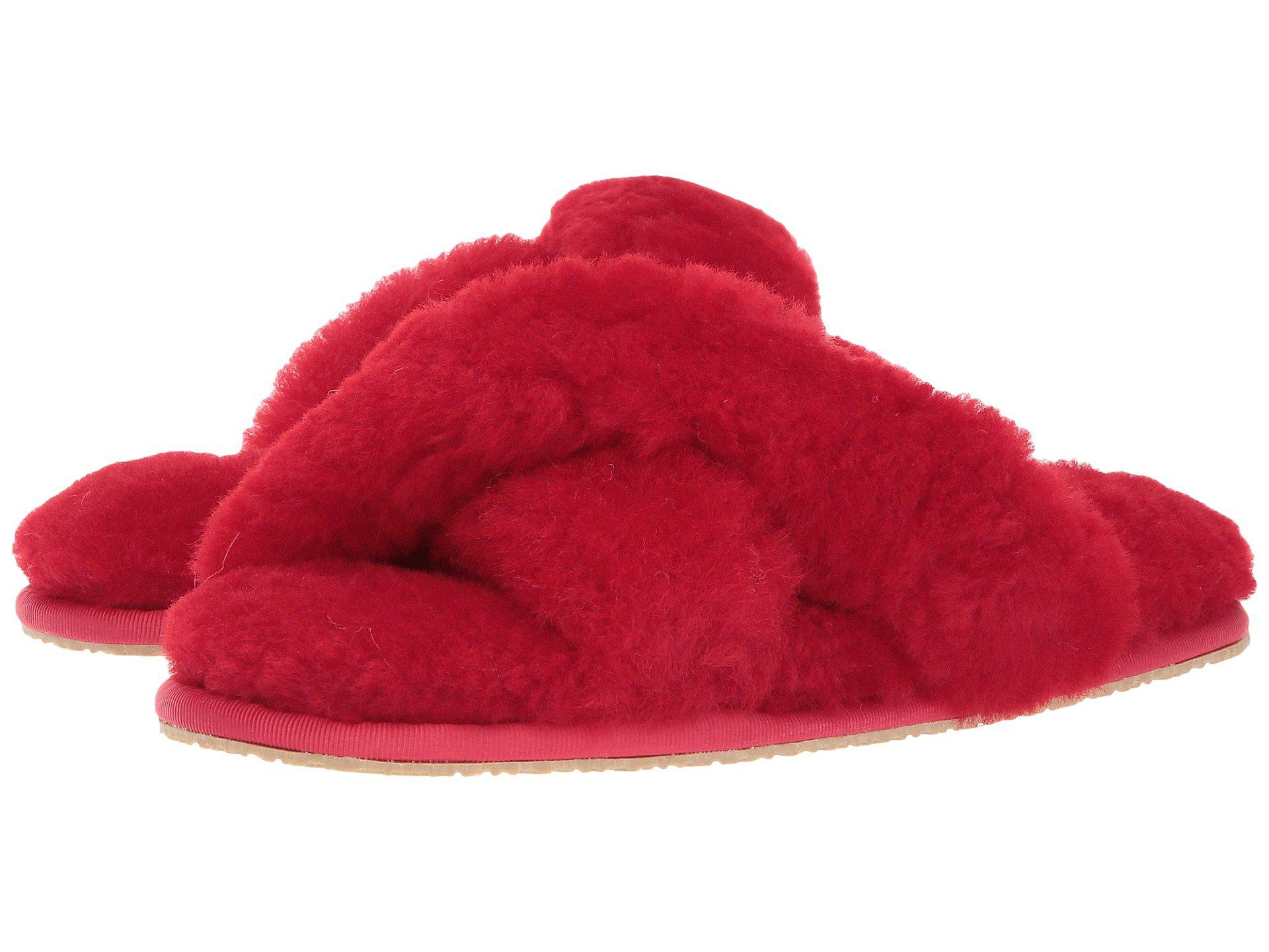 bb580d5b7d8 Lyst - Patricia Green Mt. Hood (ivory) Women s Slippers in Red - Save 1%