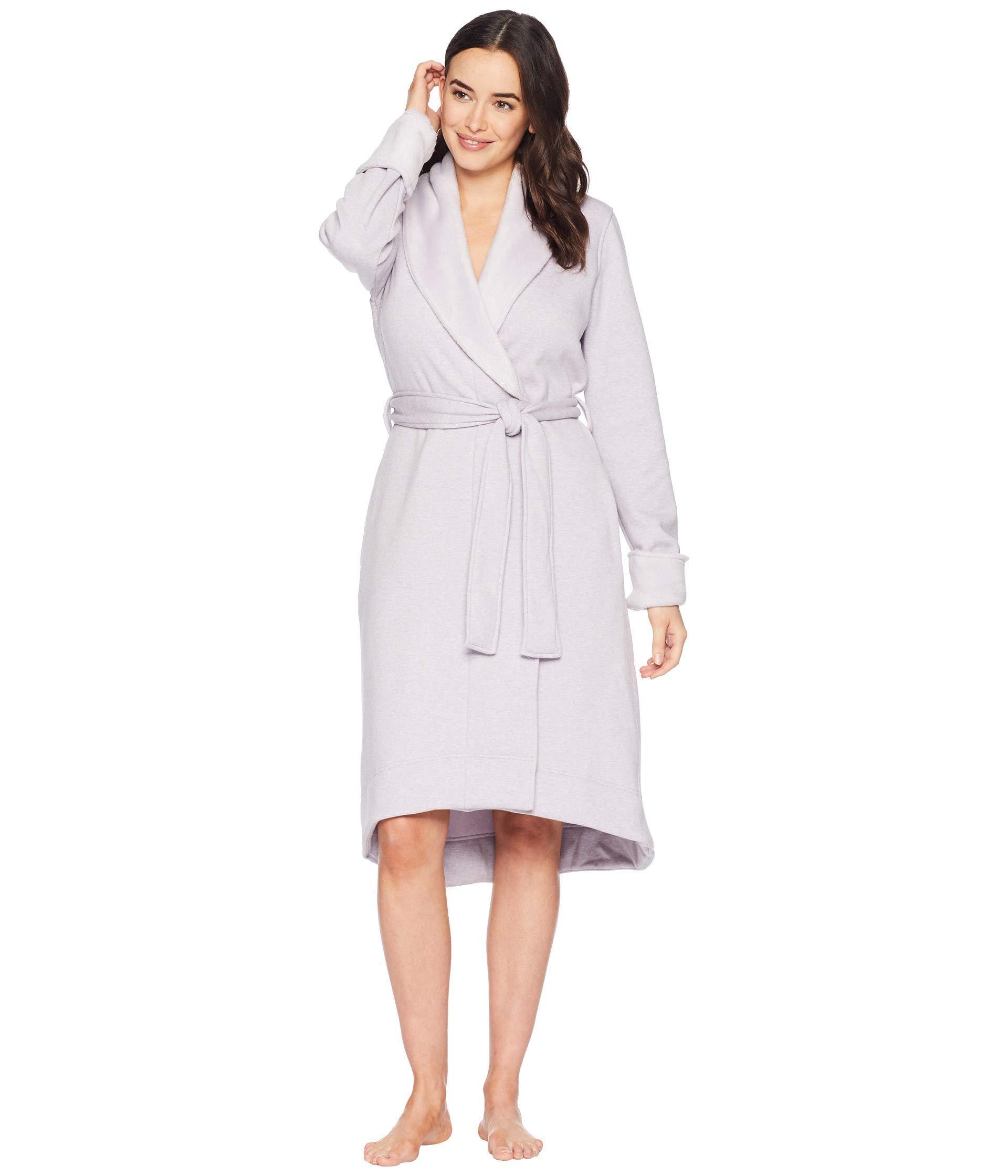 5bbf0c4d4e Lyst - UGG Duffield Ii Robe (navy Heather) Women s Robe in Purple