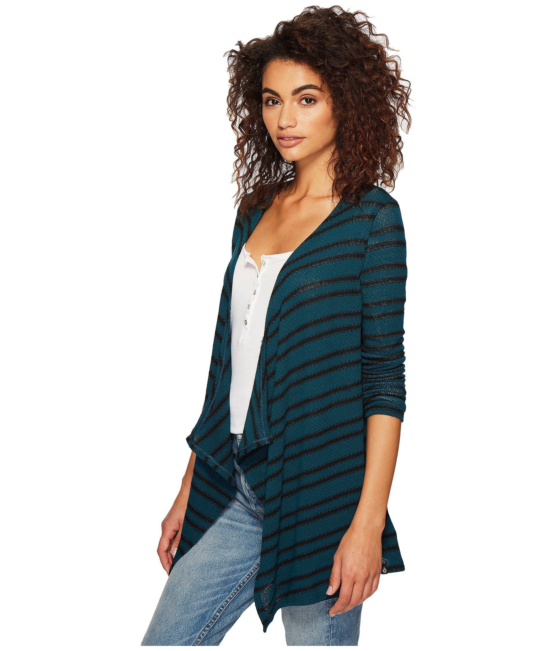 Volcom Womens Go Textured Comfy Wrap