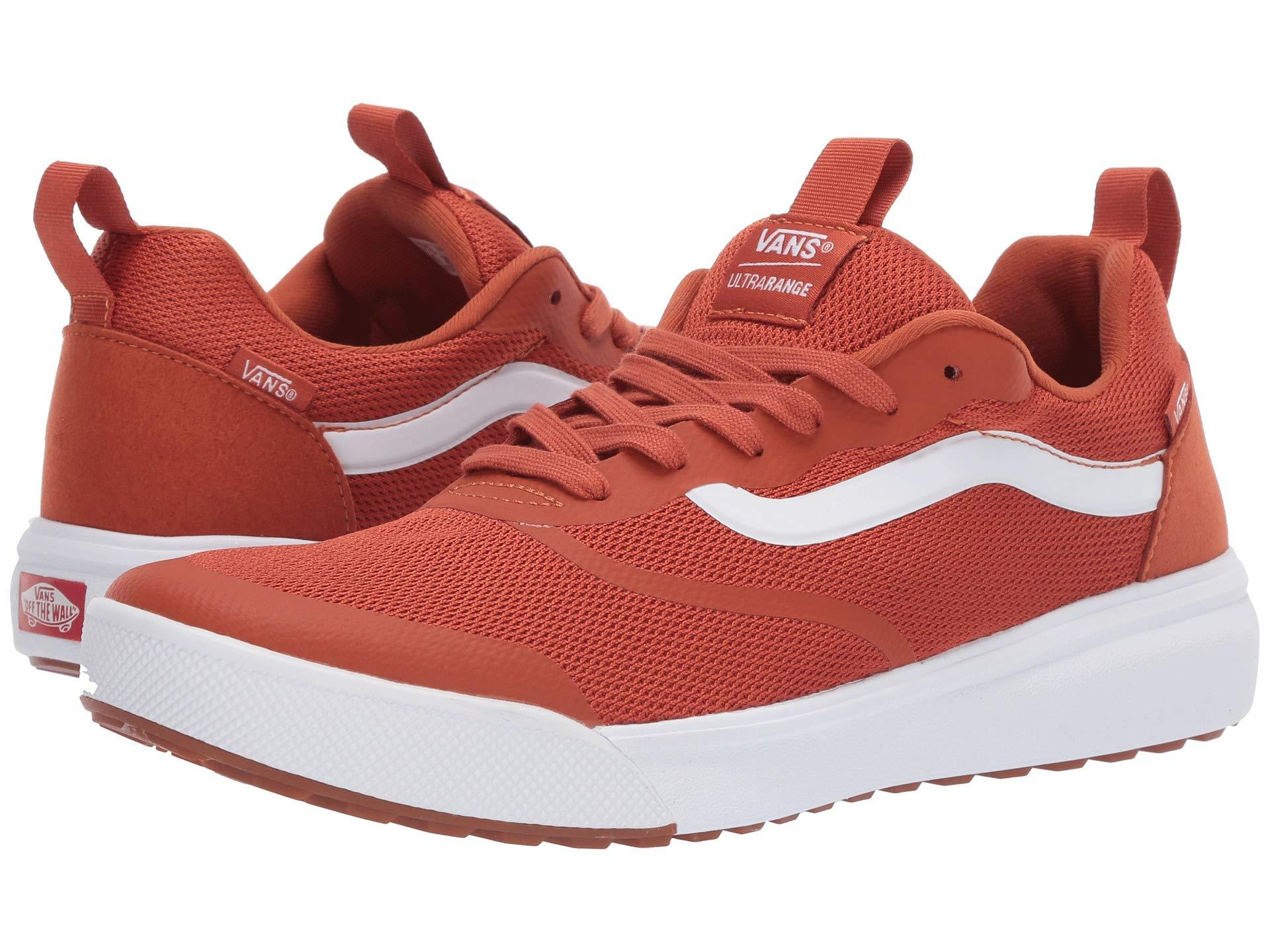 60b37480bc77bc Vans - Red Ultrarange Rapidweld (potters Clay true White) Shoes for Men -.  View fullscreen