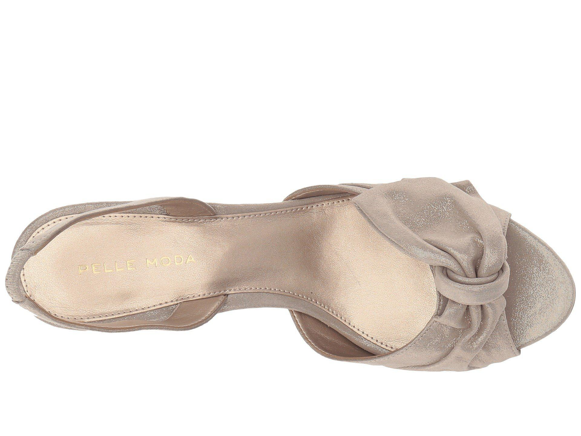769c37d6f51e Pelle Moda - Multicolor Lovi (black Suede) Women s Shoes - Lyst. View  fullscreen