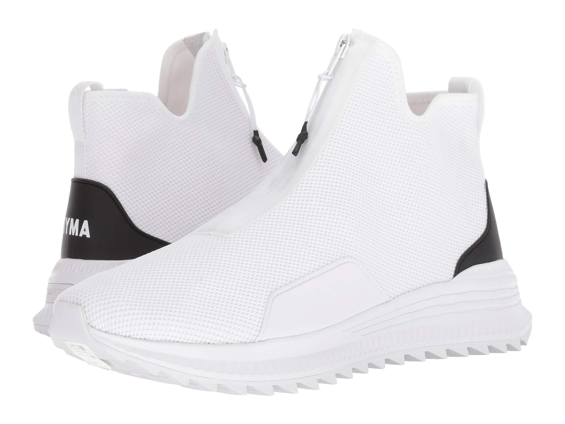 23c93624e1ac4 PUMA X Outlaw Moscow Avid Zip Sneaker ( White) Lace Up Casual Shoes for men