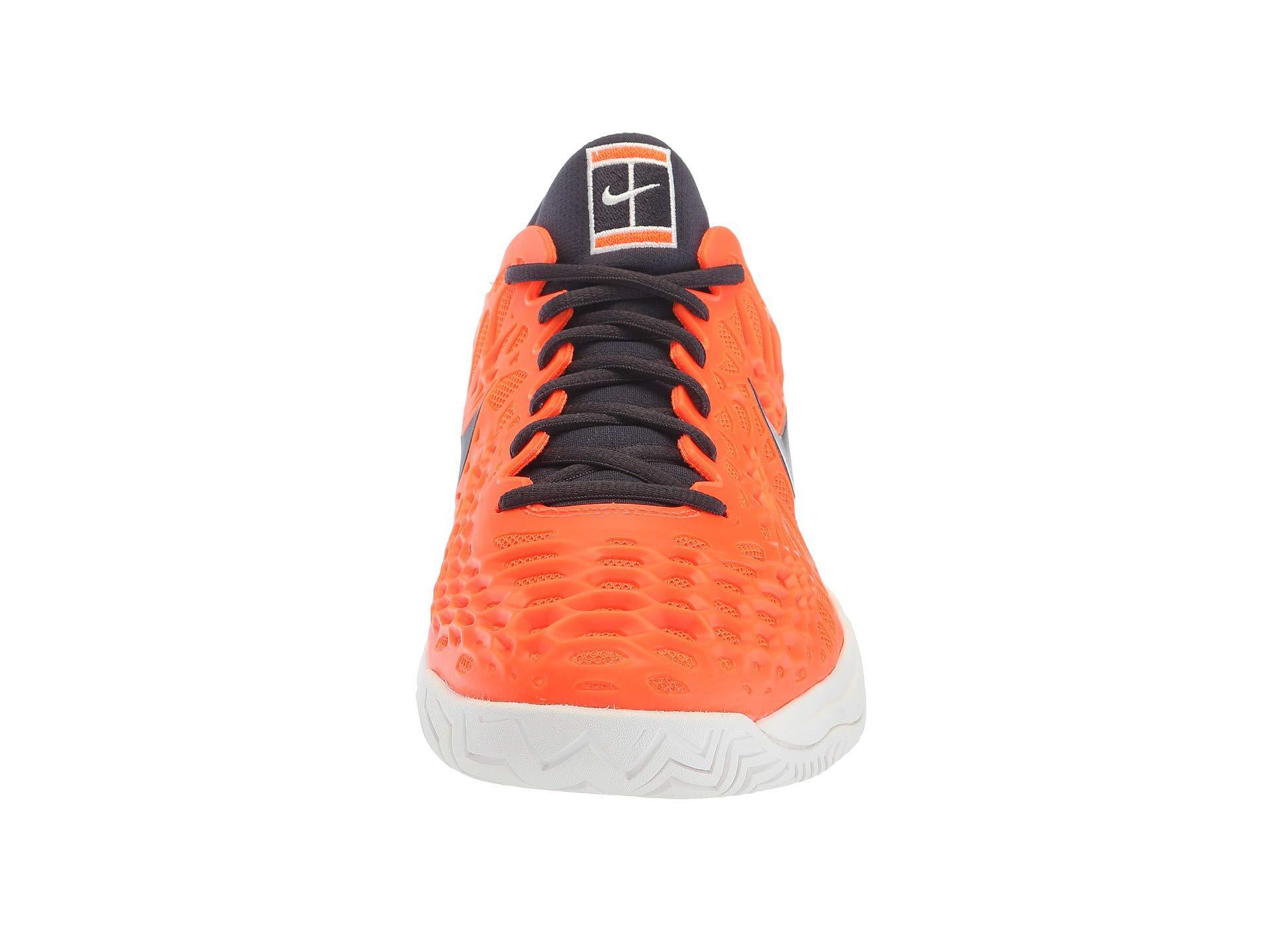 67f8bc59 In Nike Men Clay Cage 3 Lyst Tennis Zoom Shoe Orange For rwYUqr