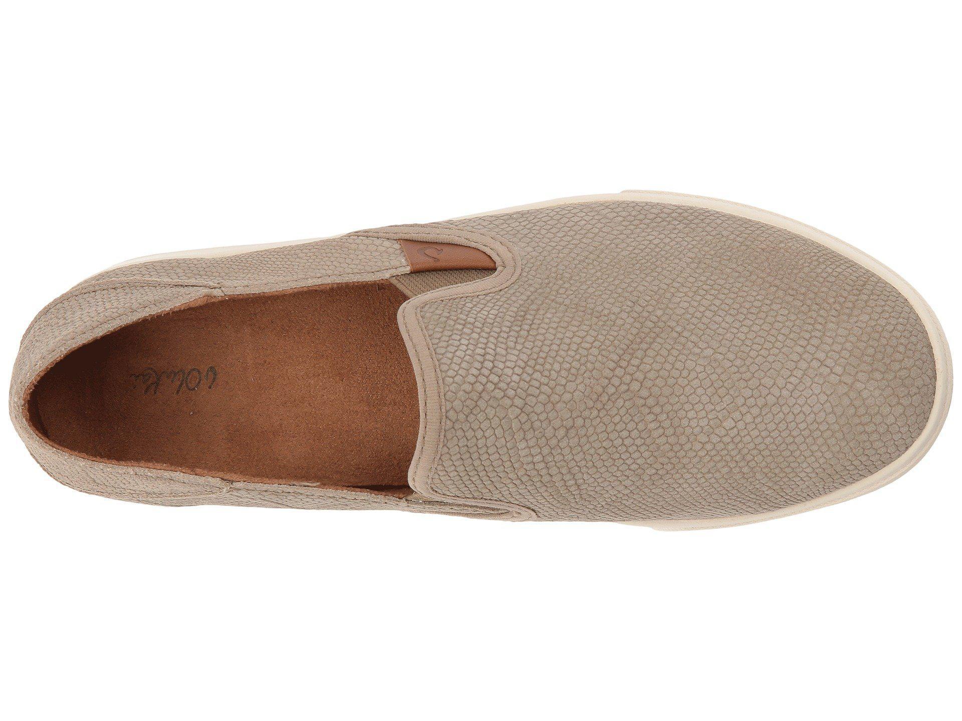 019c96ff2b68 Olukai - Multicolor Pehuea Leather (black black) Women s Shoes - Lyst. View  fullscreen