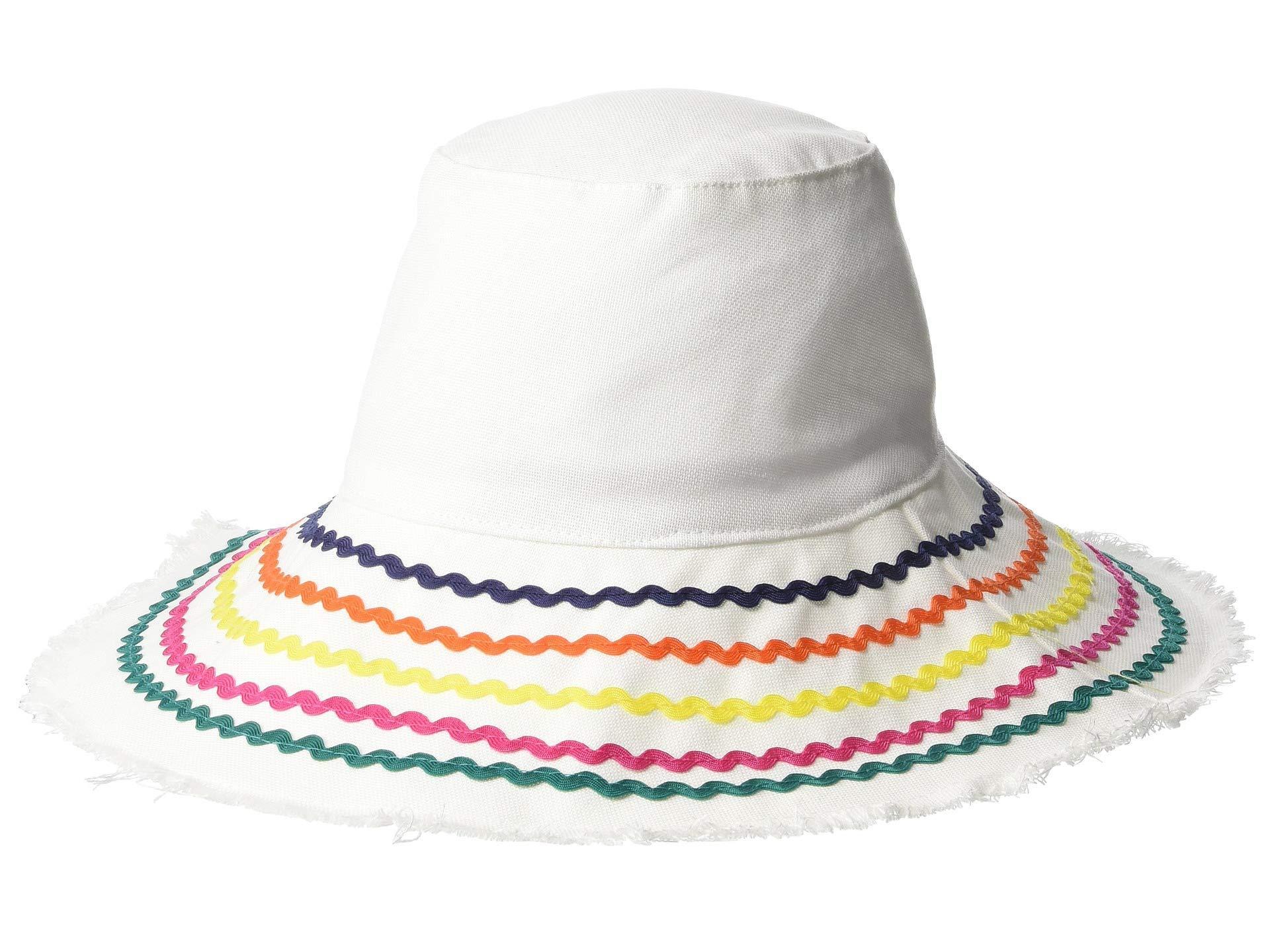 Lyst - San Diego Hat Company Cth8264 - Bucket Hat With Ric Rac Trim ... 462970a3c47c