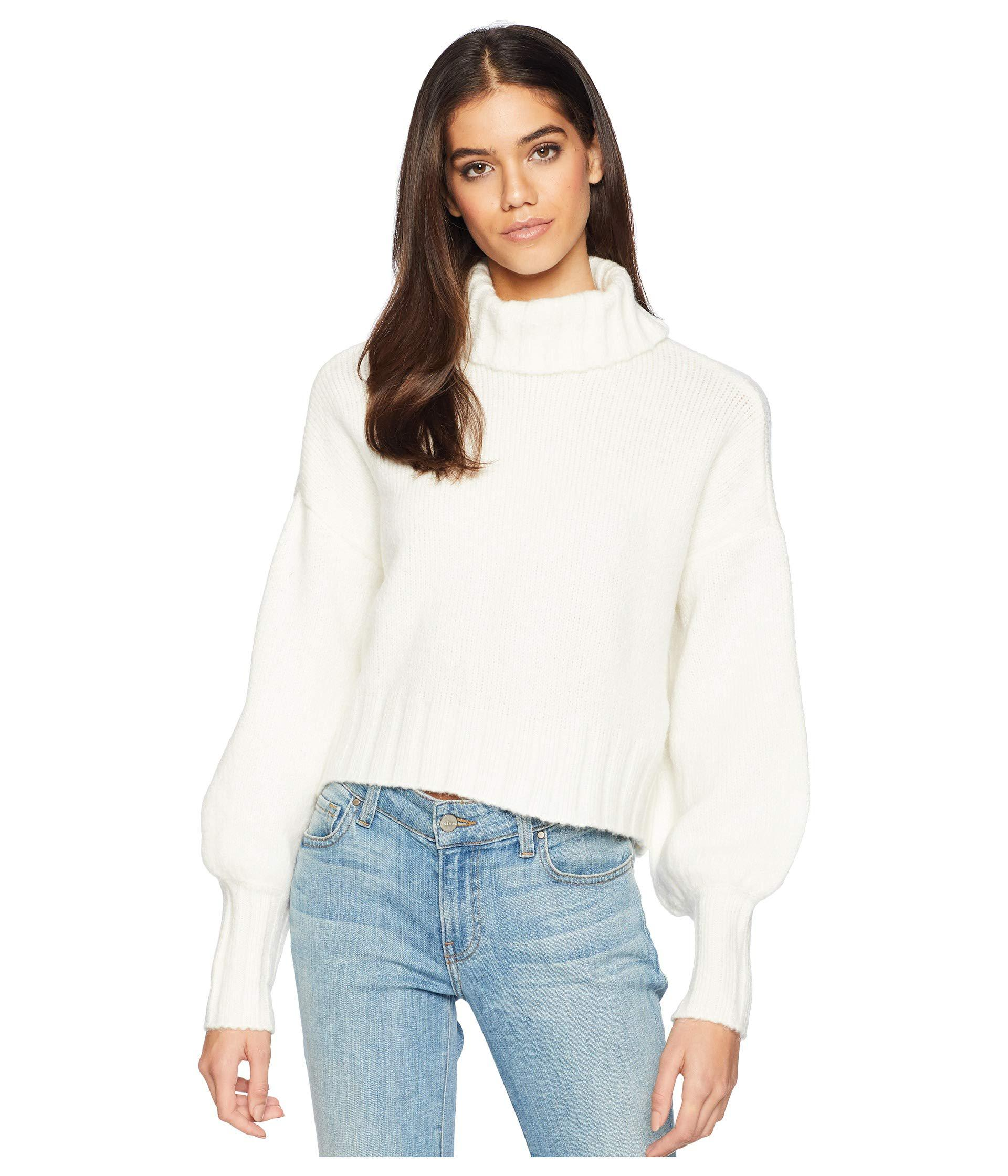 b34e81b8b7d8 Lyst - For Love   Lemons Dylan Turtleneck Sweater (ivory) Women s ...