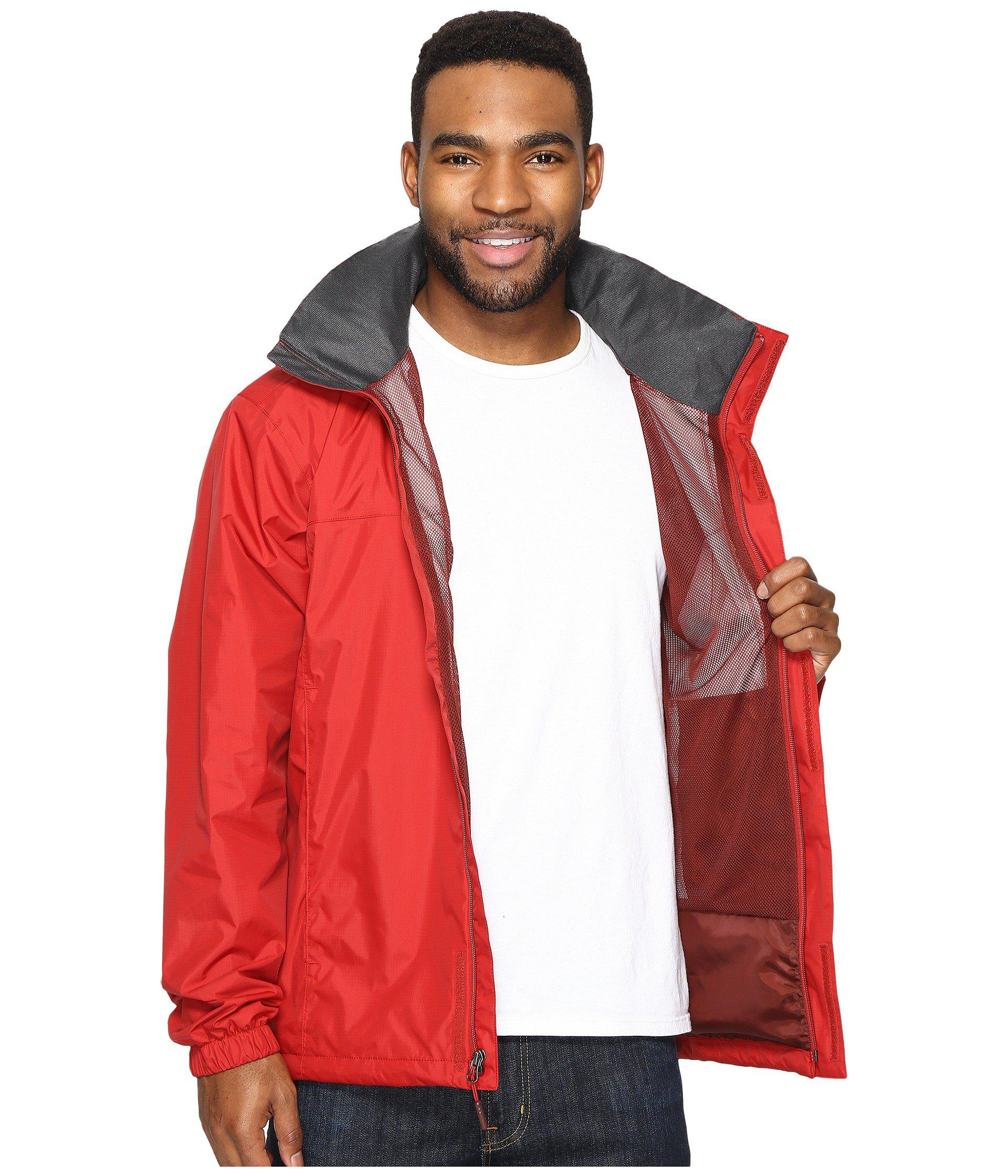 675a68a9b The North Face Red Resolve 2 Jacket for men
