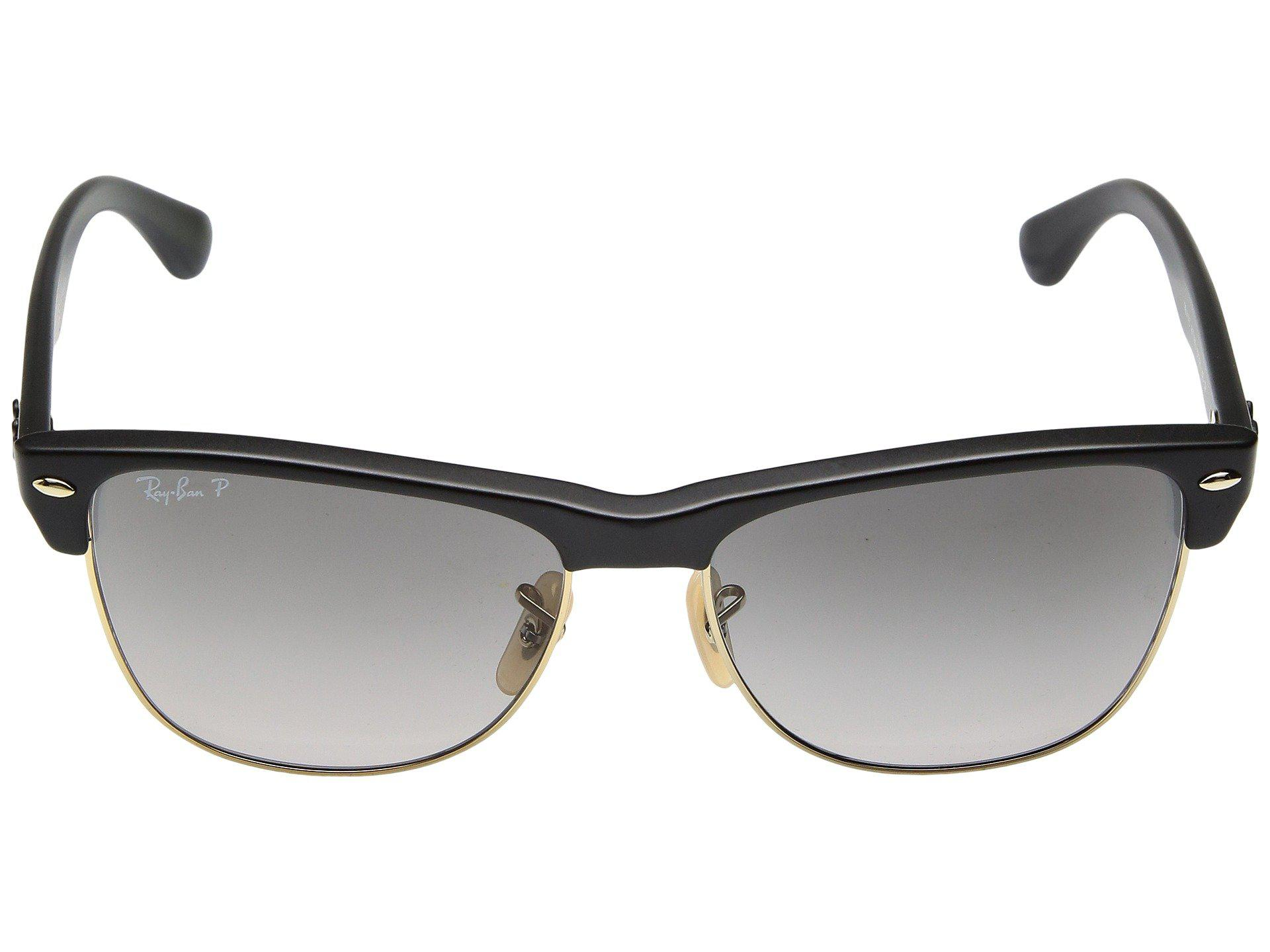 1cb24432c0 Ray-Ban - Rb4175 Oversized Clubmaster 57mm (black grey Gradient) Fashion  Sunglasses. View fullscreen