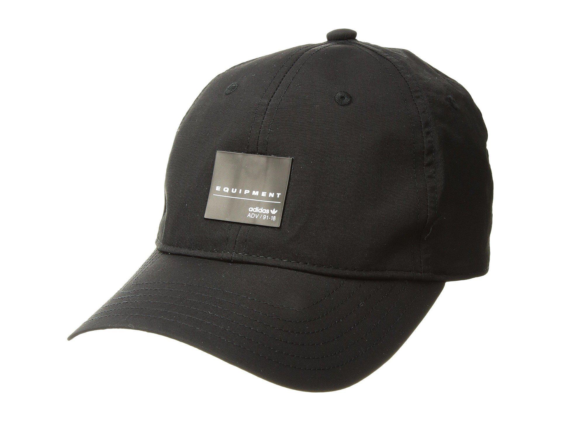 51175467178 Lyst - adidas Originals Originals Eqt Label Strapback (black white ...