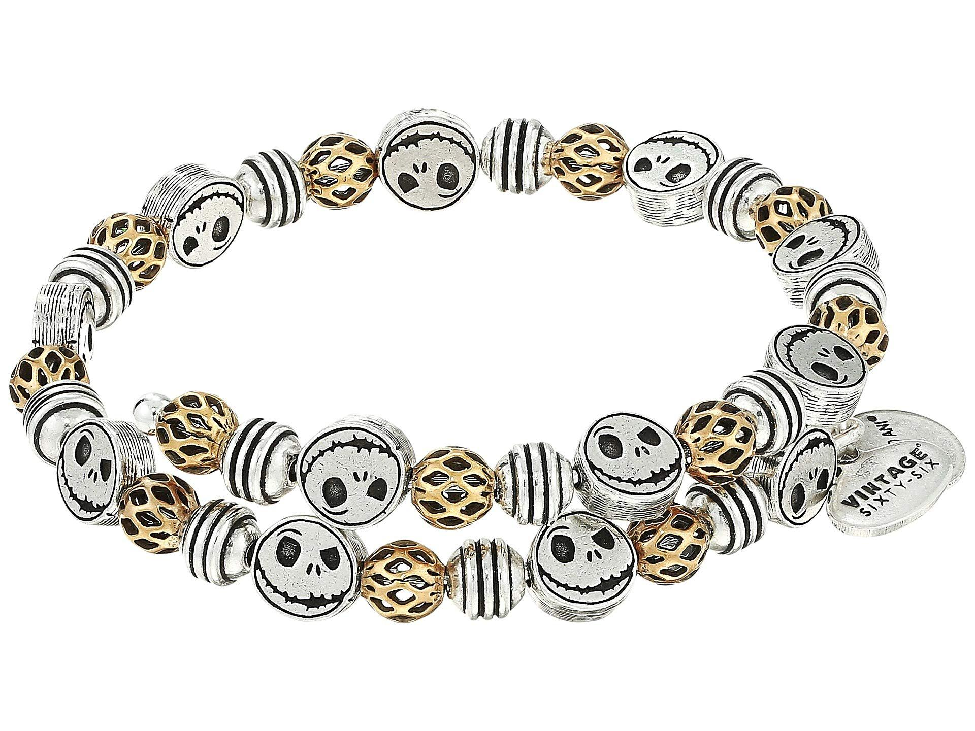 Nightmare Before Christmas Jack Skellington Wrap Bracelet