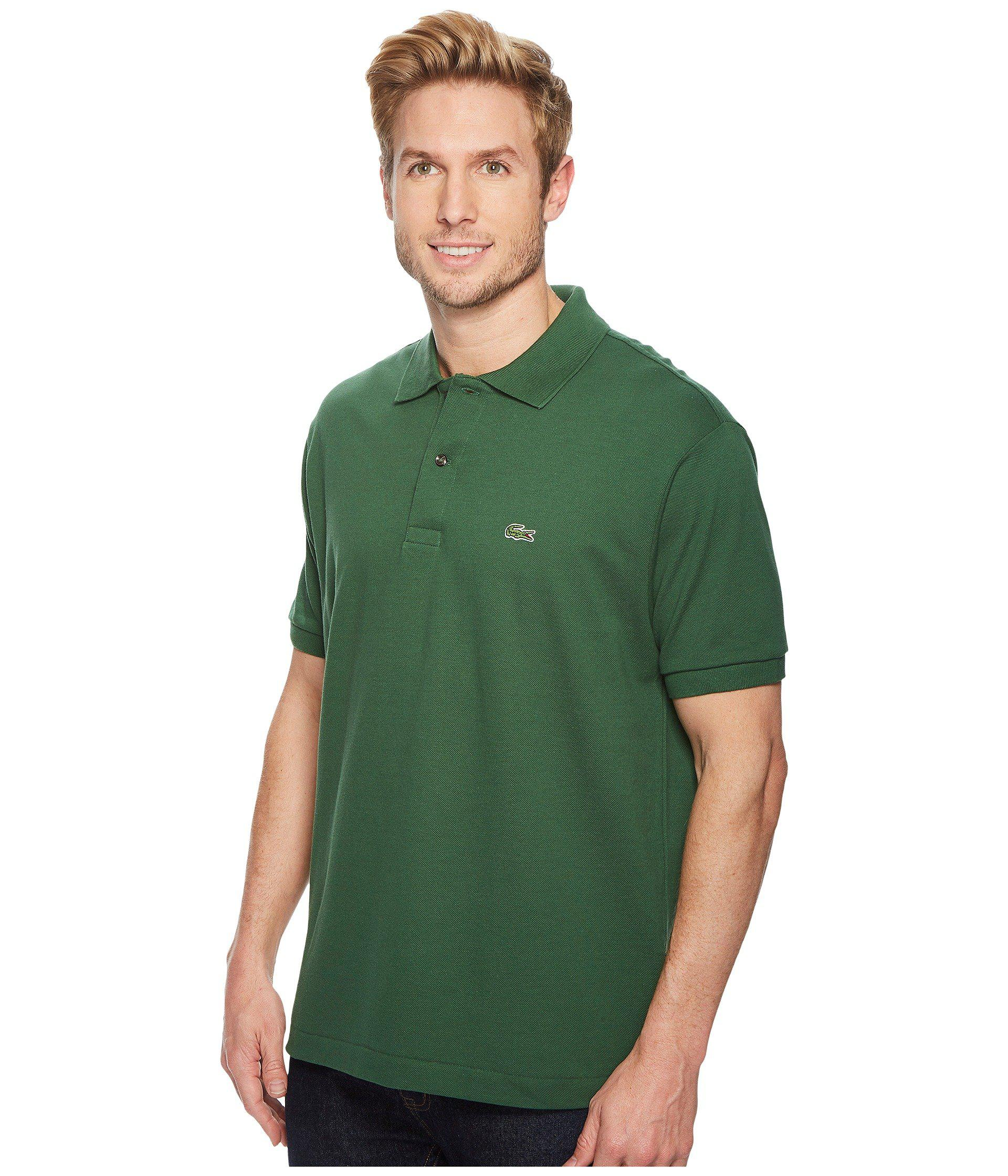 052c1a01c Lyst - Lacoste Short Sleeve Classic Pique Polo Shirt (green) Men s Short  Sleeve Pullover in Green for Men - Save 50%
