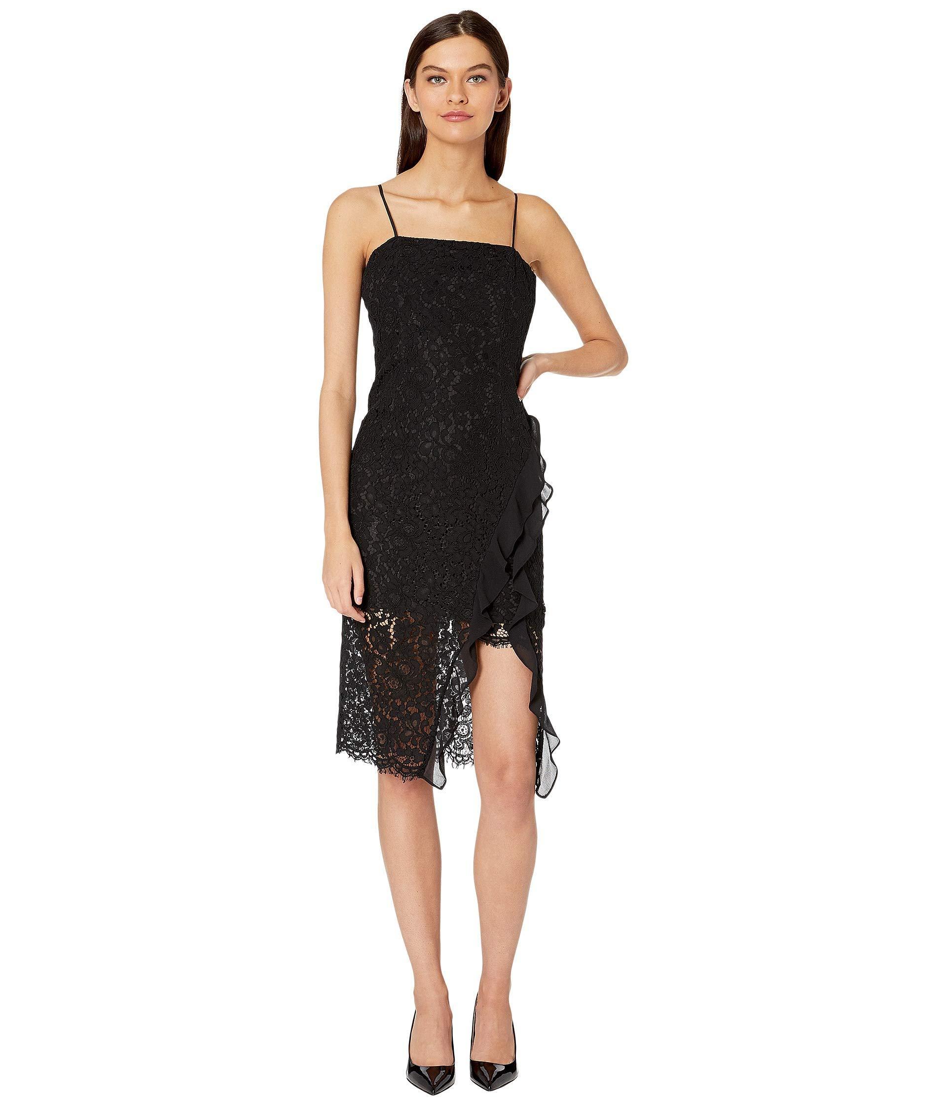 e22a2dcf325f Bardot - Priscilla Lace Dress (black) Women's Clothing - Lyst. View  fullscreen