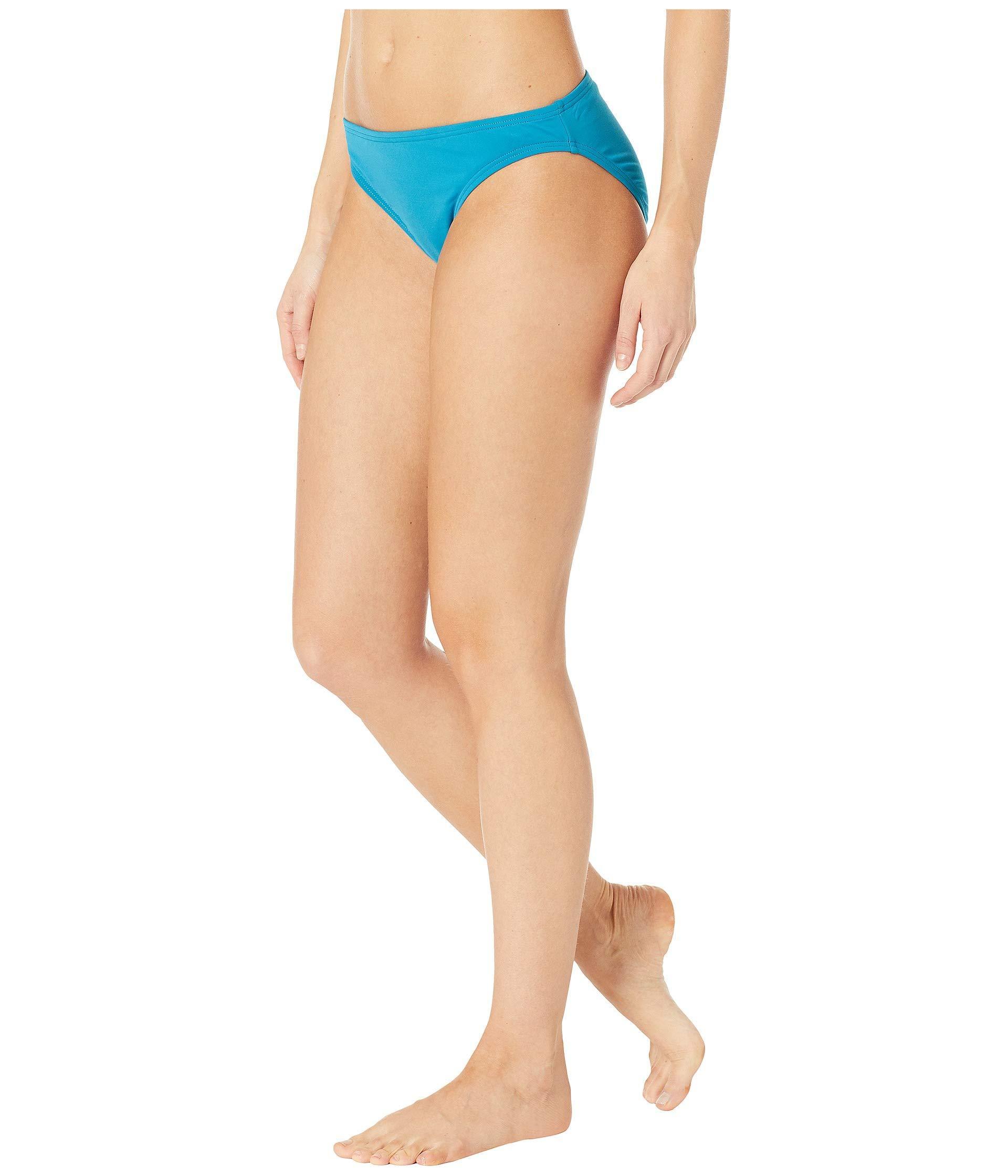 485736a6b92cf Lyst - MICHAEL Michael Kors Iconic Solids Classic Bikini Bottoms (gunmetal)  Women s Swimwear in Blue