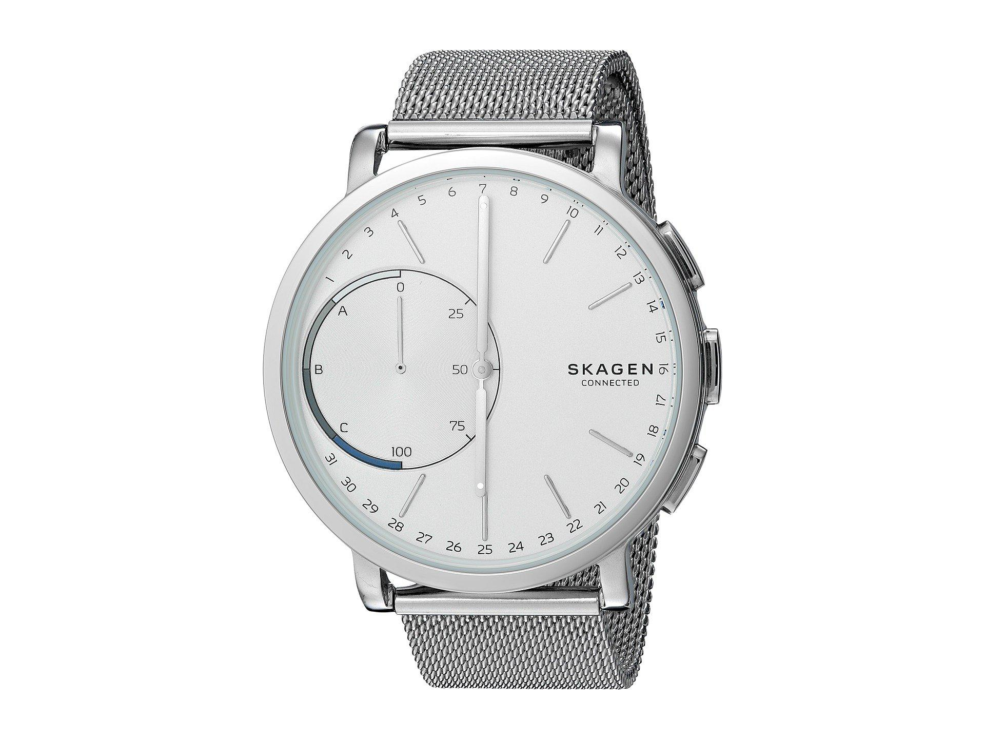 casual watches skagen stainless quartz model hagen color amazon grey steel com dp men s watch