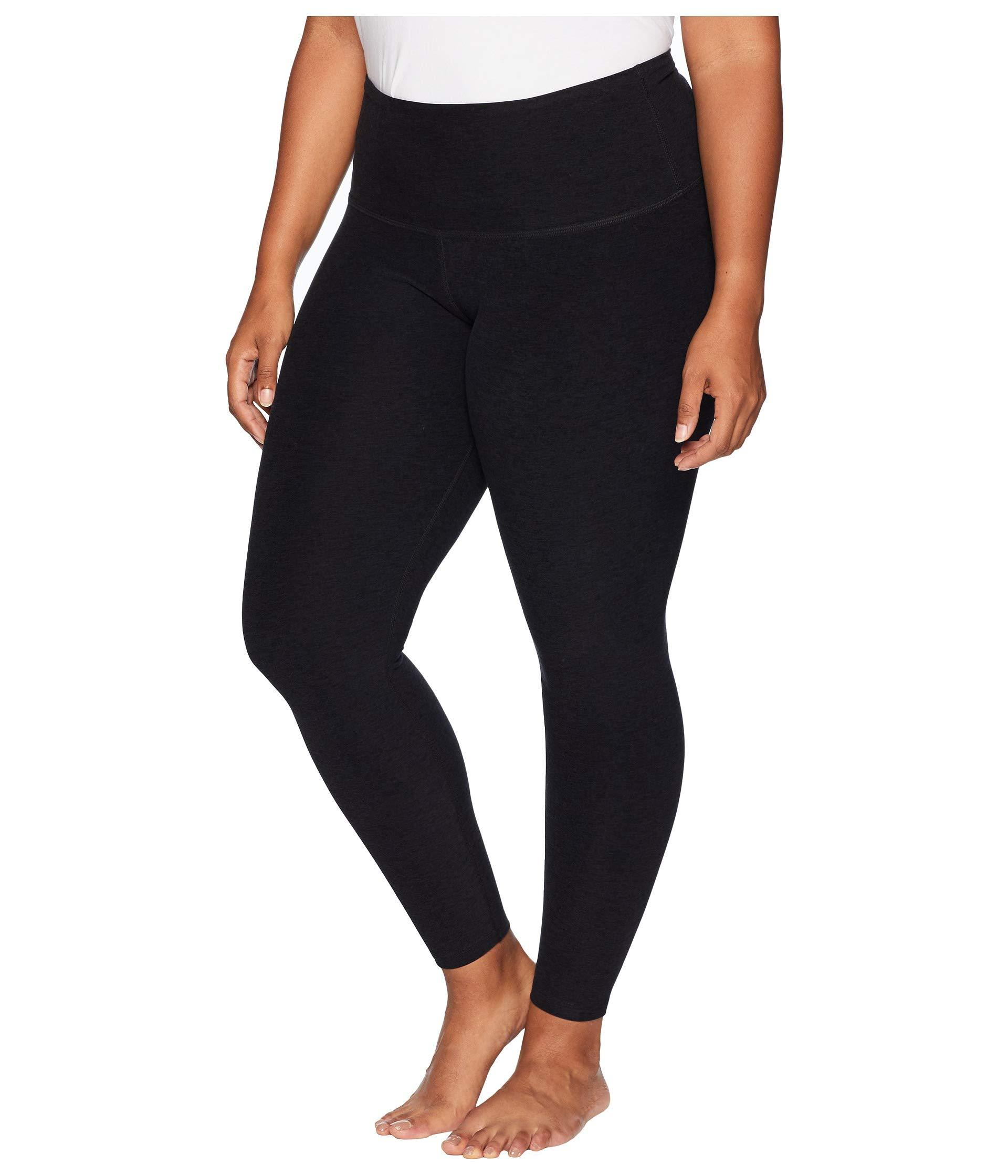 1c33f8785e63f Lyst - Beyond Yoga Plus Size High-waisted Midi Leggings (black/pink/lei)  Women's Workout in Black