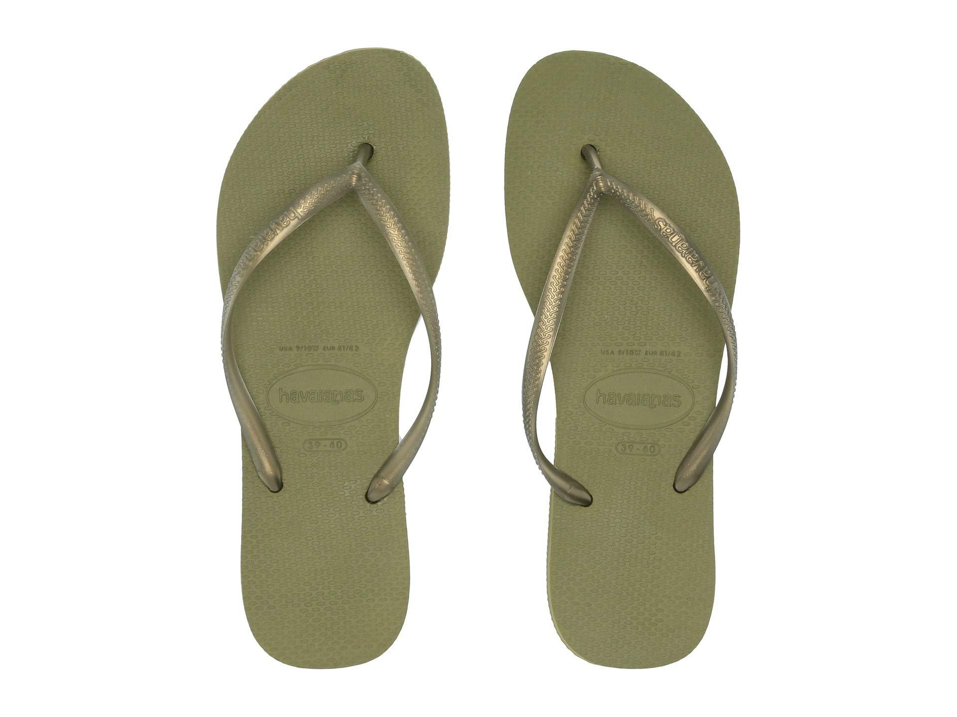 278324b635d1e Lyst - Havaianas Slim Flip Flops (blue) Women s Sandals in Green