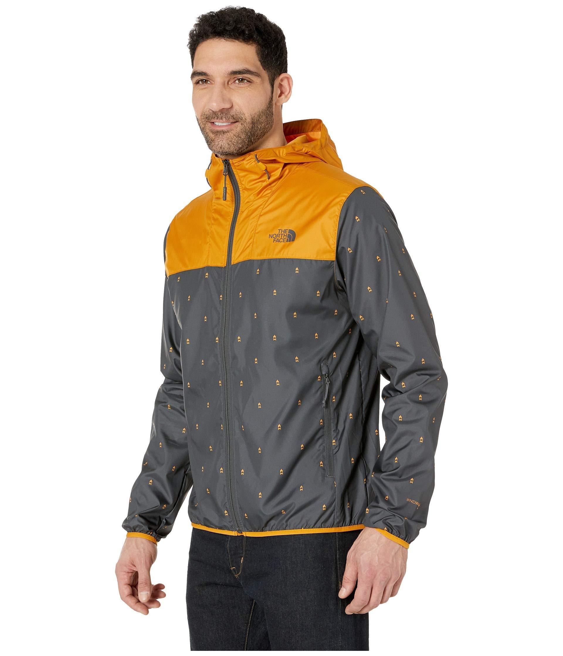 bc4c0870f Printed Cyclone Hoodie (citrine Yellow Campfire Print/citrine Yellow) Men's  Sweatshirt