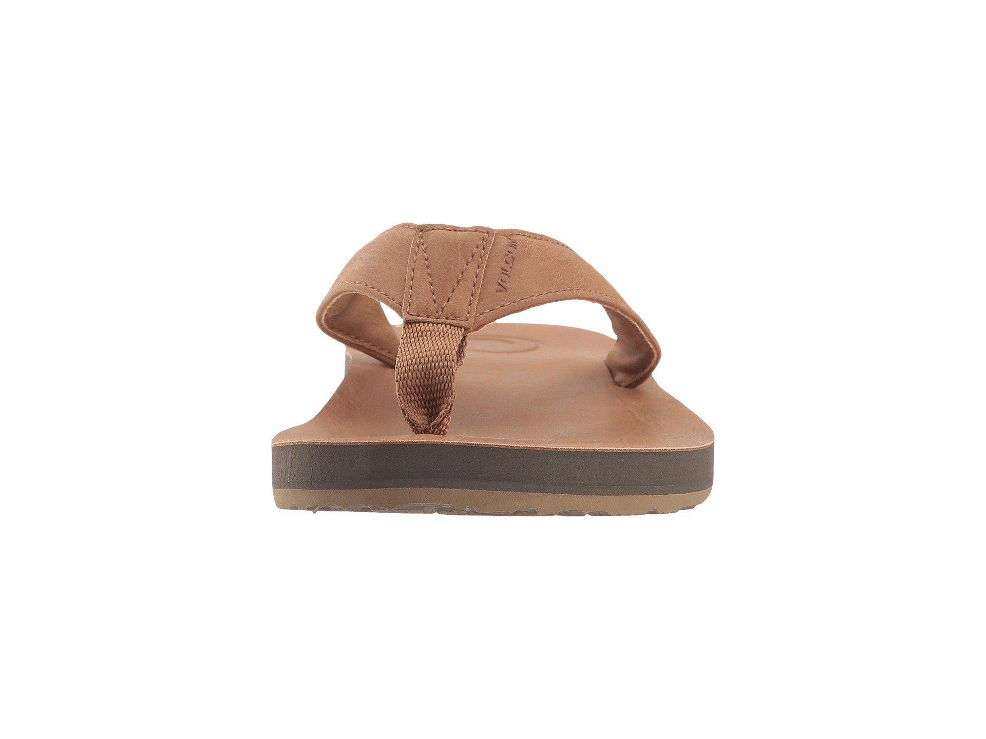 finest selection c1692 1e564 volcom-Khaki-Fathom-Sandal-black-Mens-Shoes.jpeg