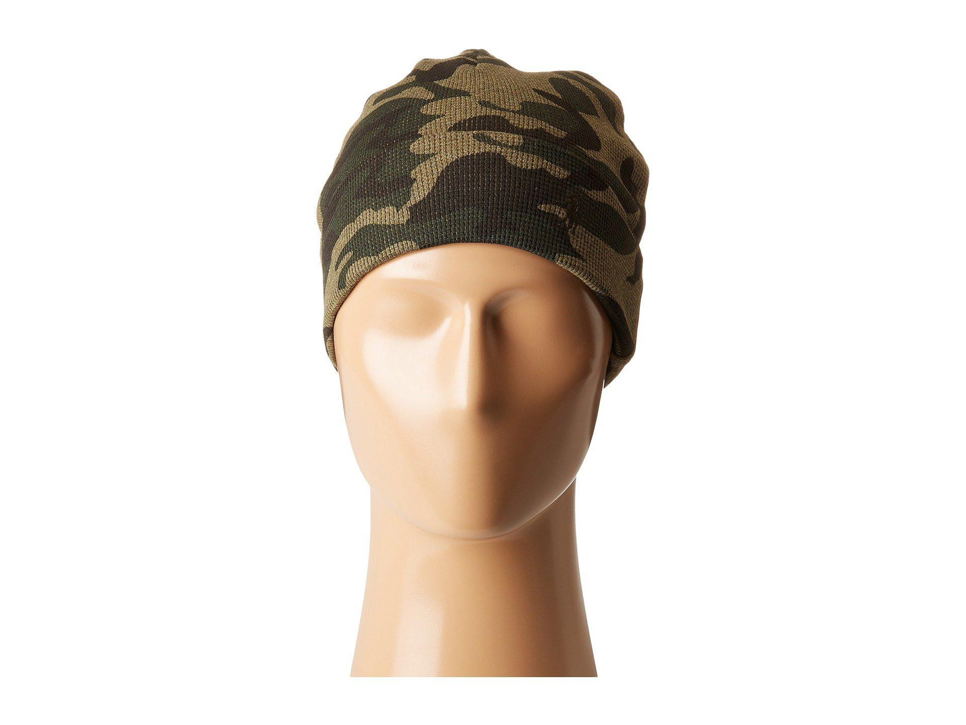 POLO RALPH LAUREN Hat  Thermal Cuffed BEANIE Camouflage   100/% Cotton Green