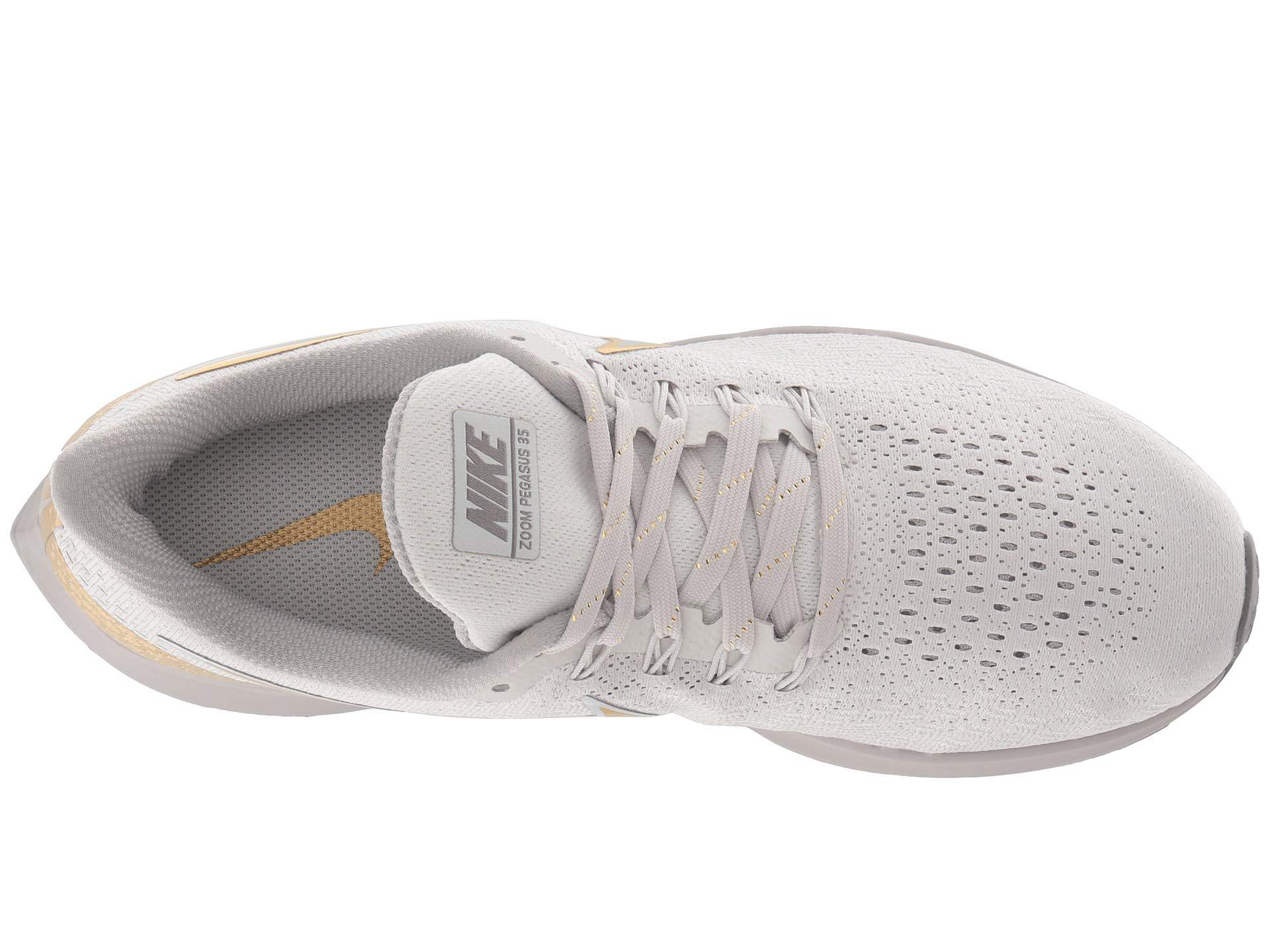 e7a692d700522 Nike - Gray Air Zoom Pegasus 35 Premium (vast Grey metallic Platinum atmosphere.  View fullscreen