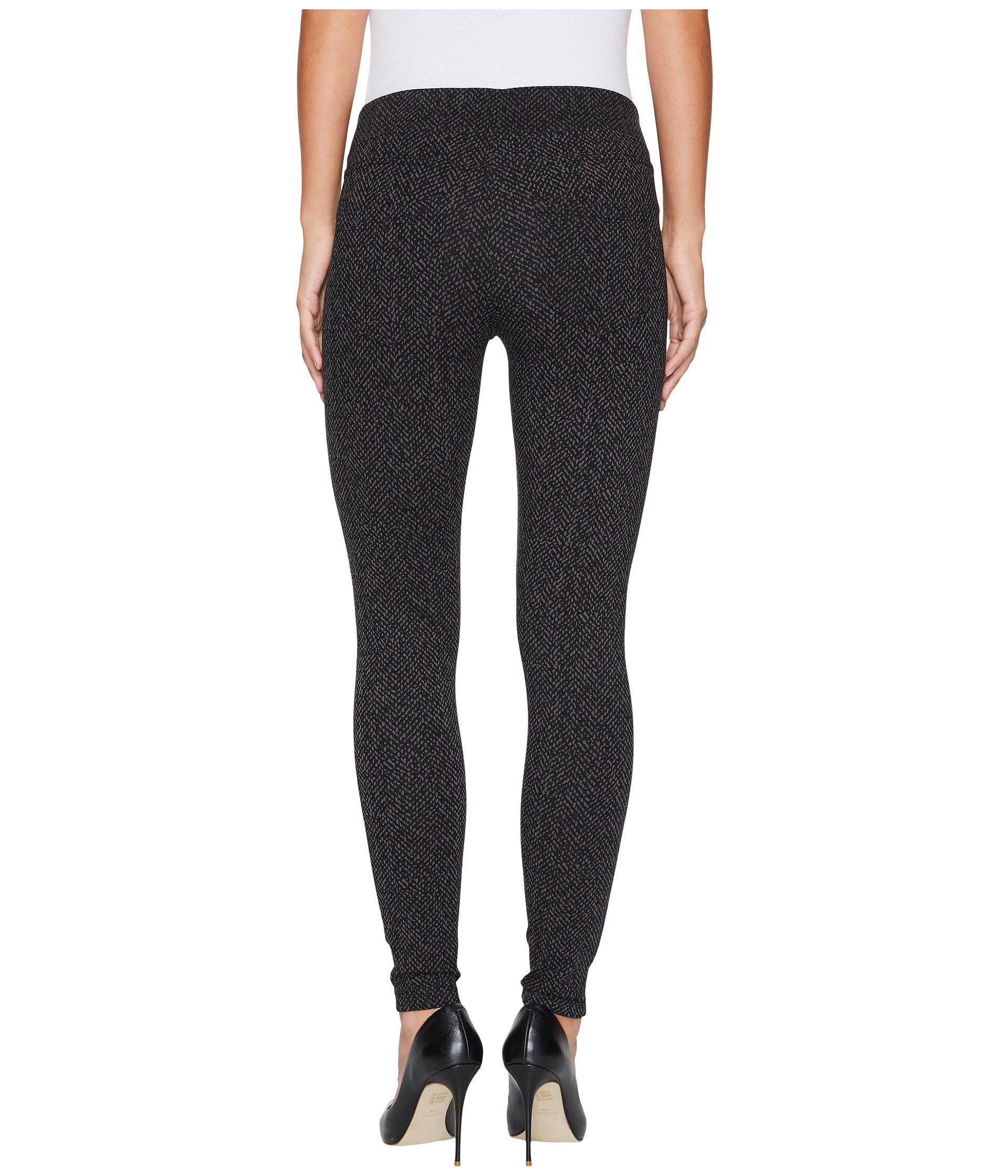 Liverpool Jeans Company Womens Sienna Pull On Legging in Glenn Windowpane Soft Ponte Knit