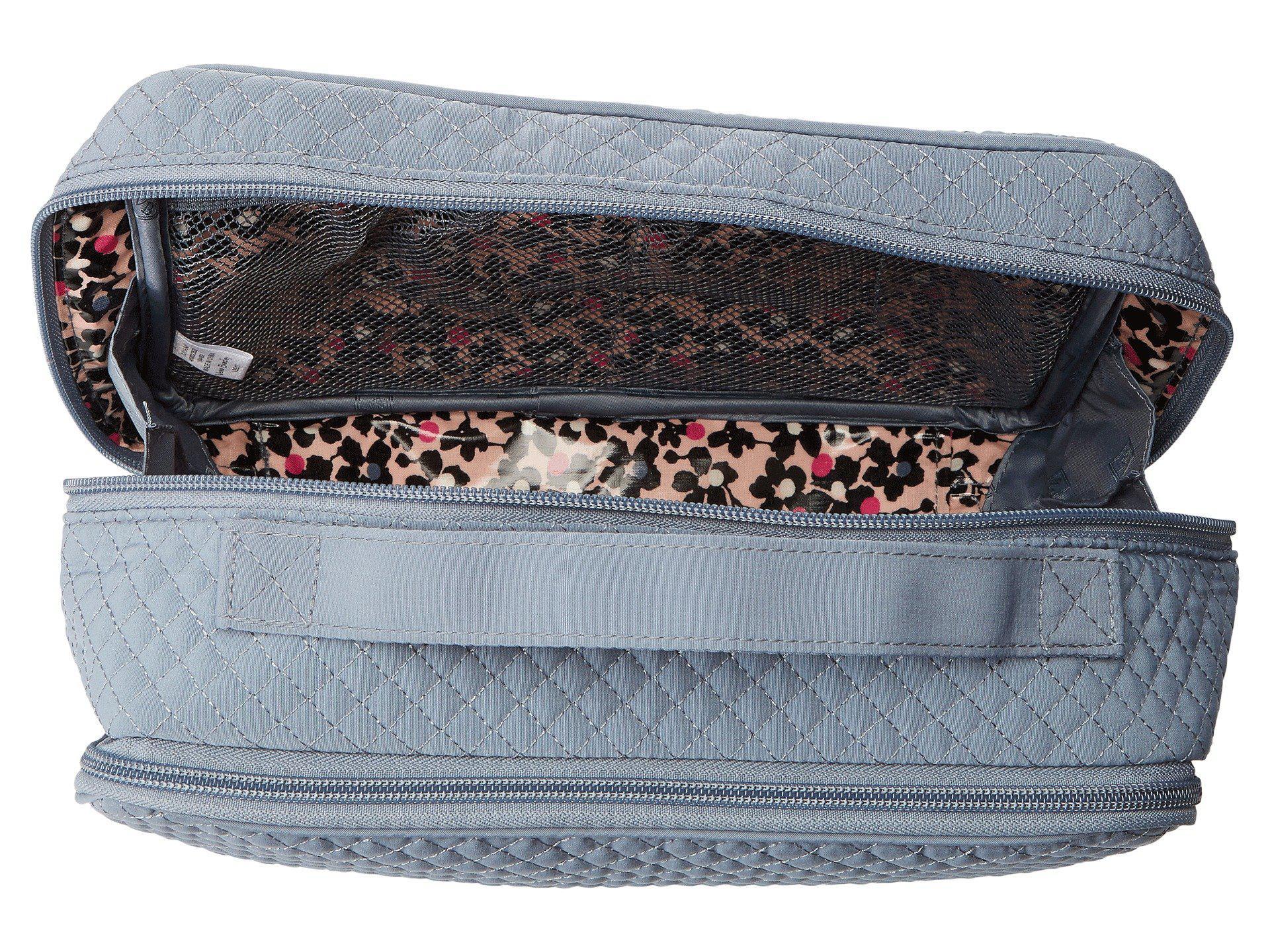 3f59b0c73b57 Vera Bradley - Gray Iconic Large Blush Brush Case (classic Navy) Luggage -  Lyst. View fullscreen