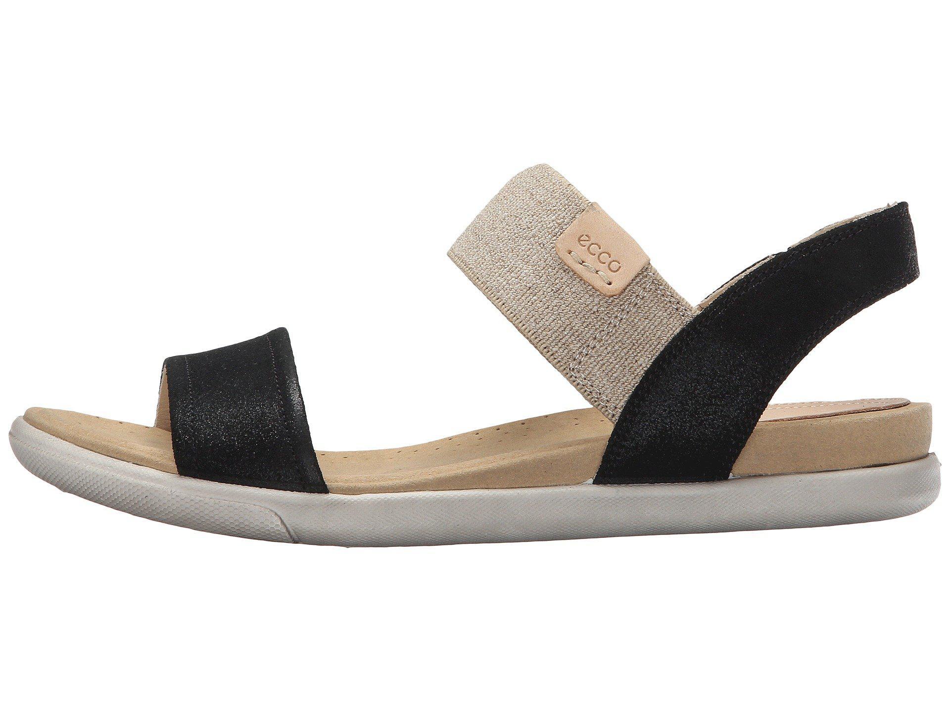 Ecco Leather Damara Ankle Sandal in