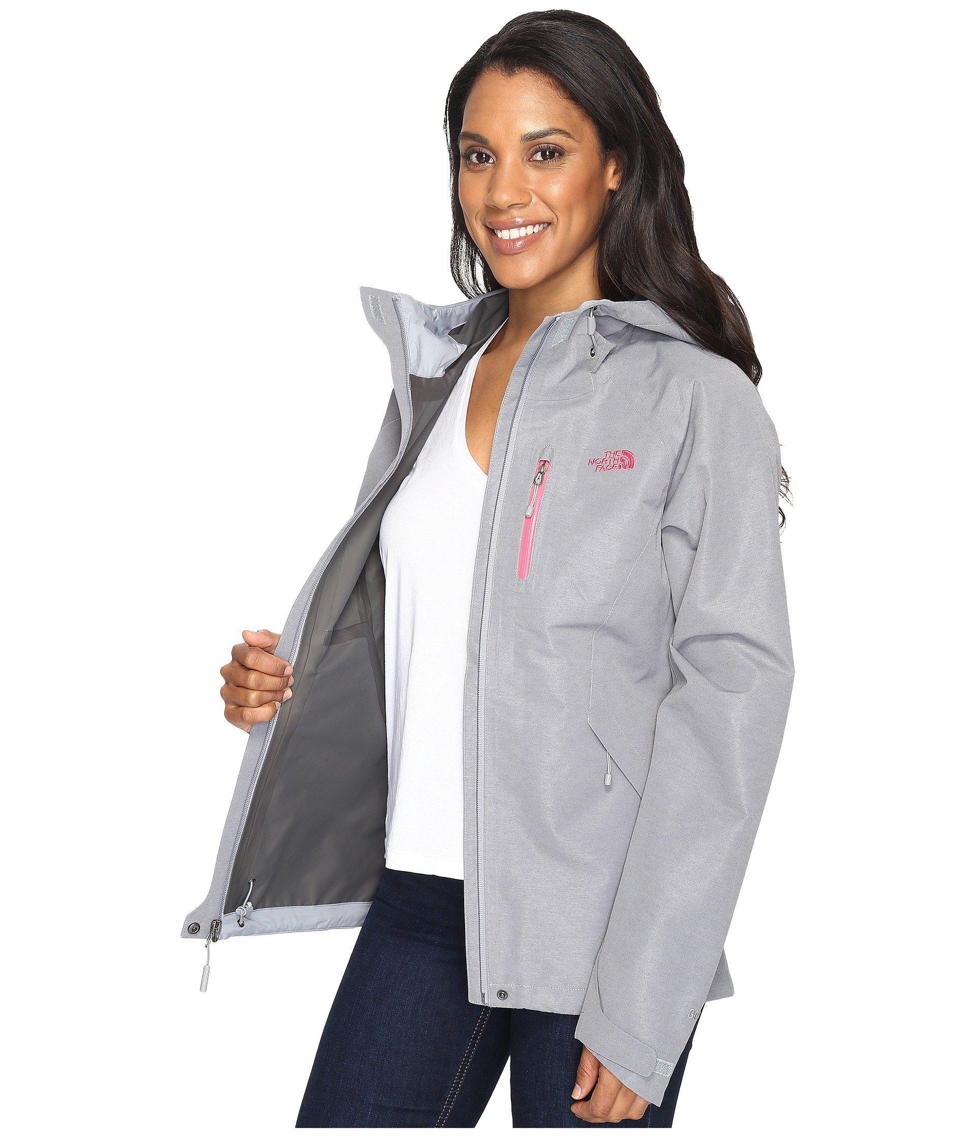 5c766d25a Women's Dryzzle Jacket (tnf Medium Gray Heather) Coat