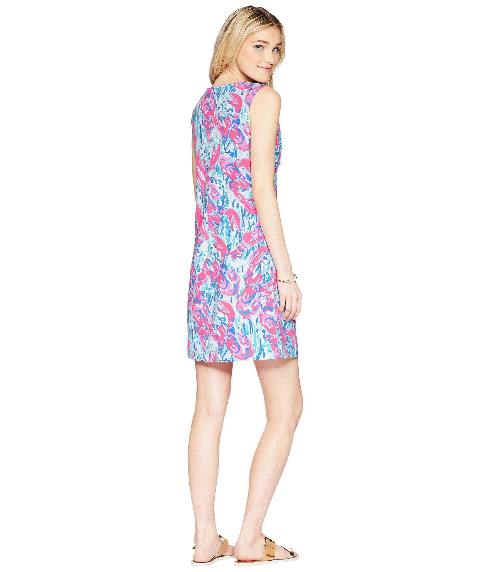 448b836ffb0f Lyst - Lilly Pulitzer Harper Shift Dress (light Lilac Aboat Time ...