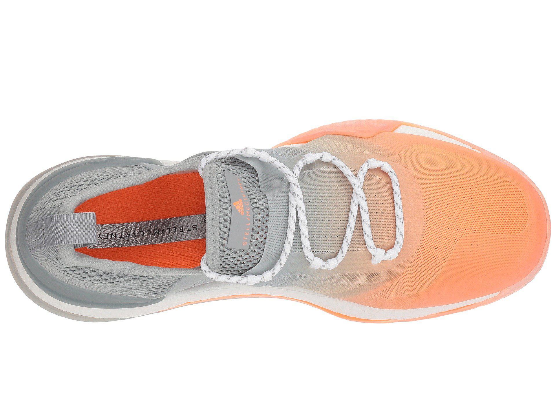 de7b57ff3 Adidas By Stella McCartney - Gray Pure Boost X Tr 3.0 (glow Orange S14 .  View fullscreen