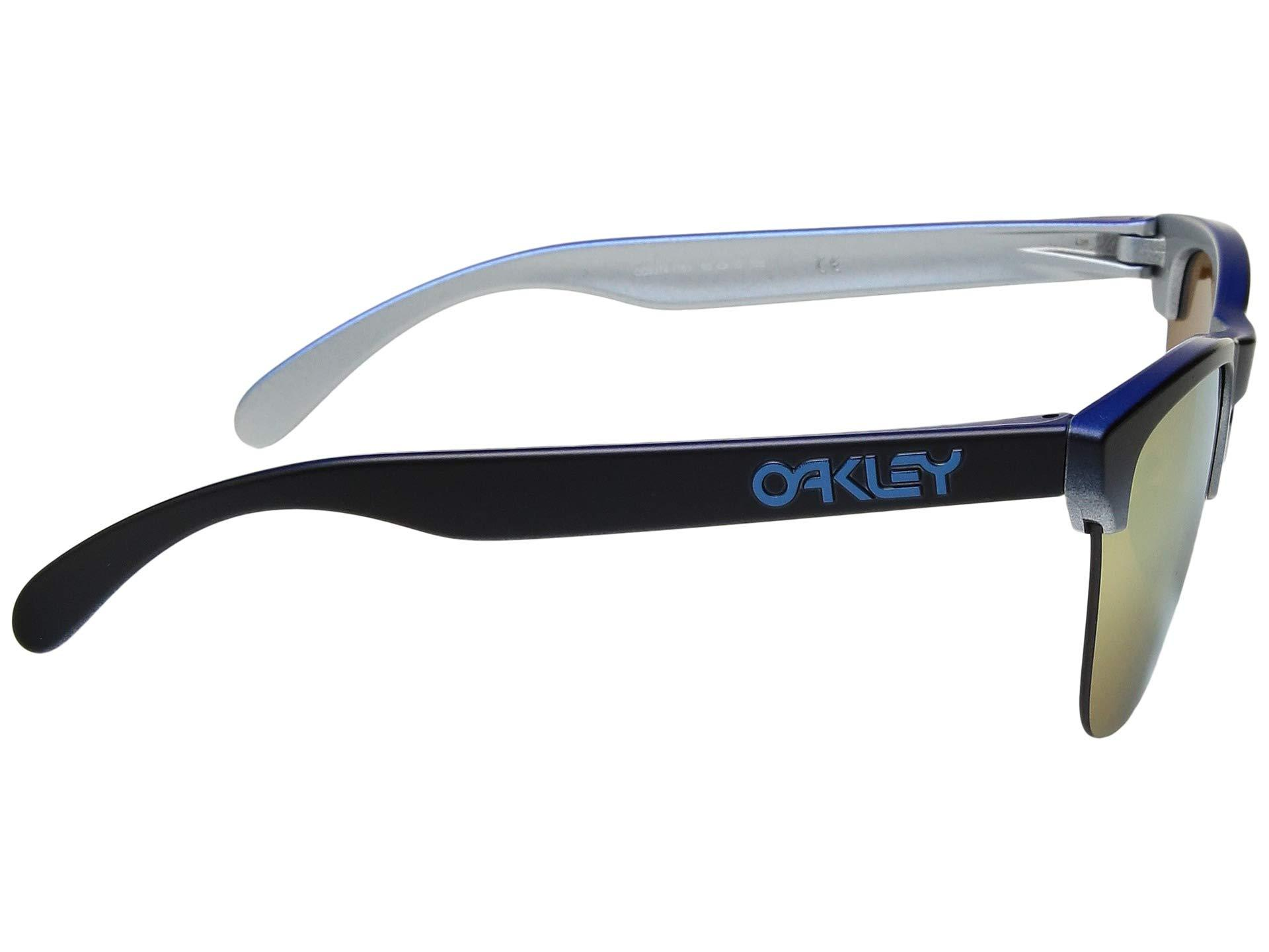 b2e4c3da04c Oakley - Frogskins Lite (blue Black Fade Silver 24k Iridium) Sport  Sunglasses for. View fullscreen