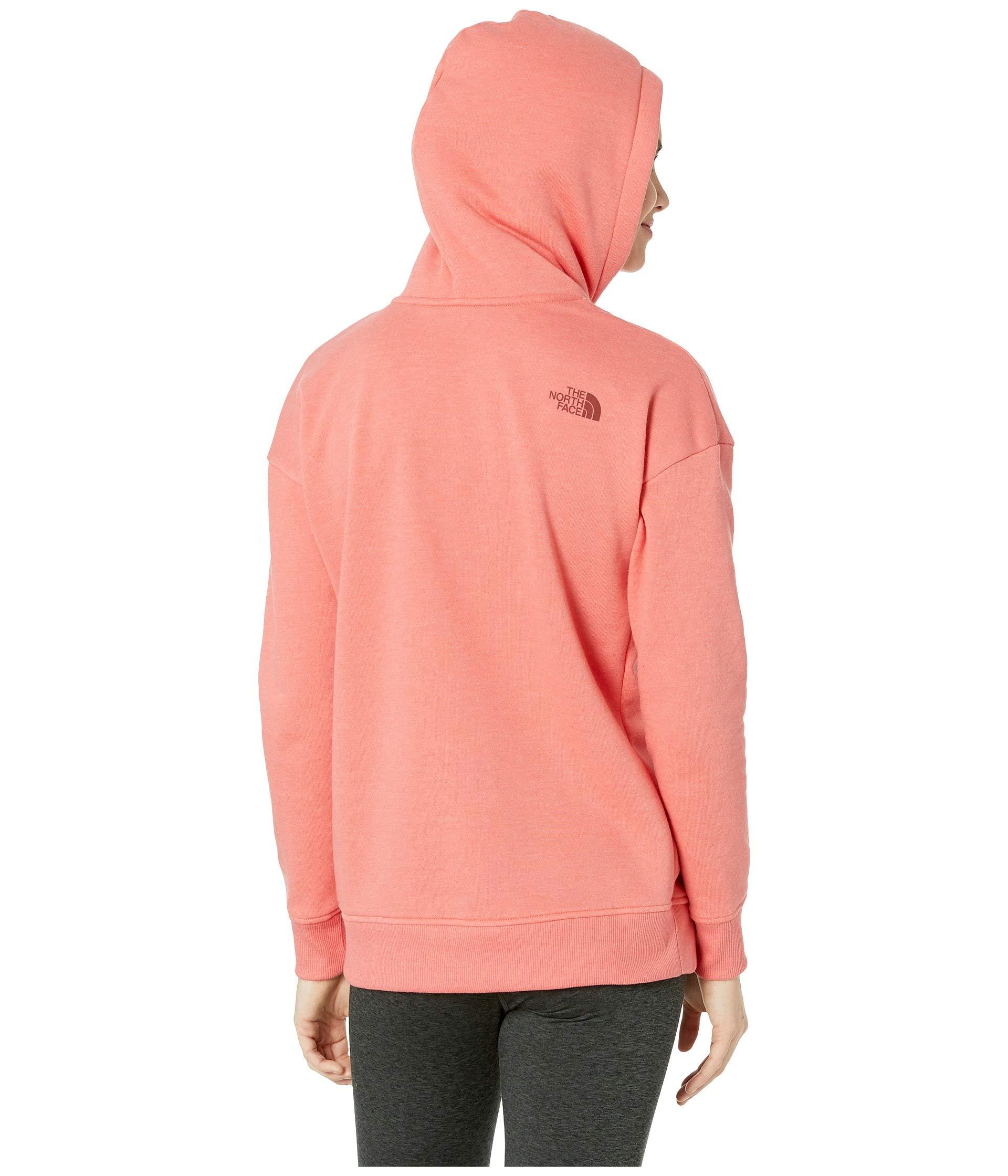 d62aa1367 Pink Bearscape Tri-blend Pullover Hoodie (spiced Coral Heather) Women's  Sweatshirt