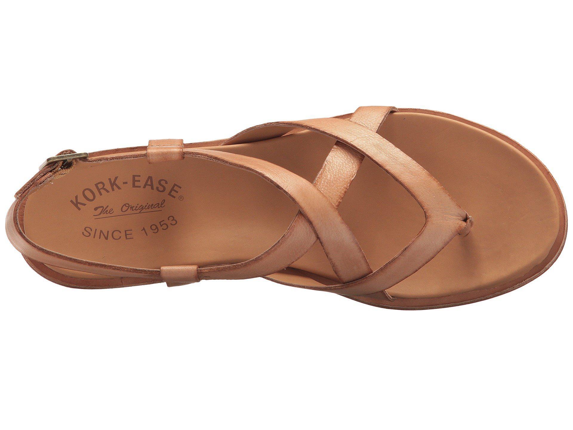 02da95aefd98 Kork-Ease - Yarbrough (brown Full Grain Leather) Women s Sandals - Lyst.  View fullscreen