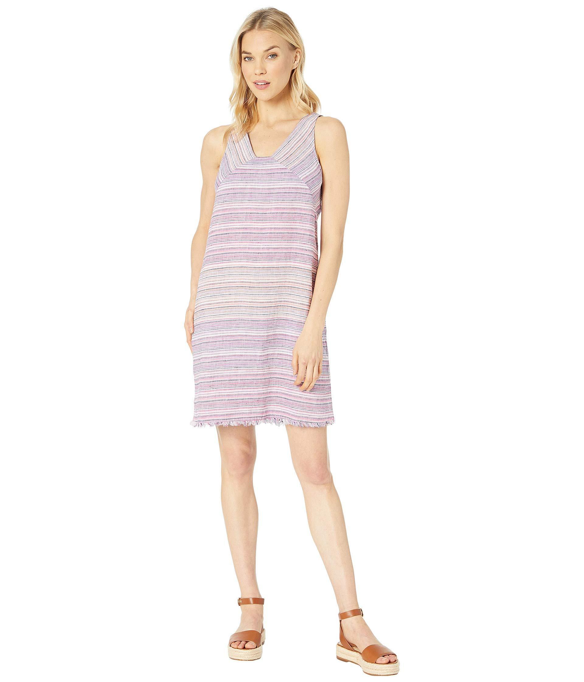 863a0675b6 Lyst - Tommy Bahama Micronesia Stripe Shift Dress (monaco Blue ...