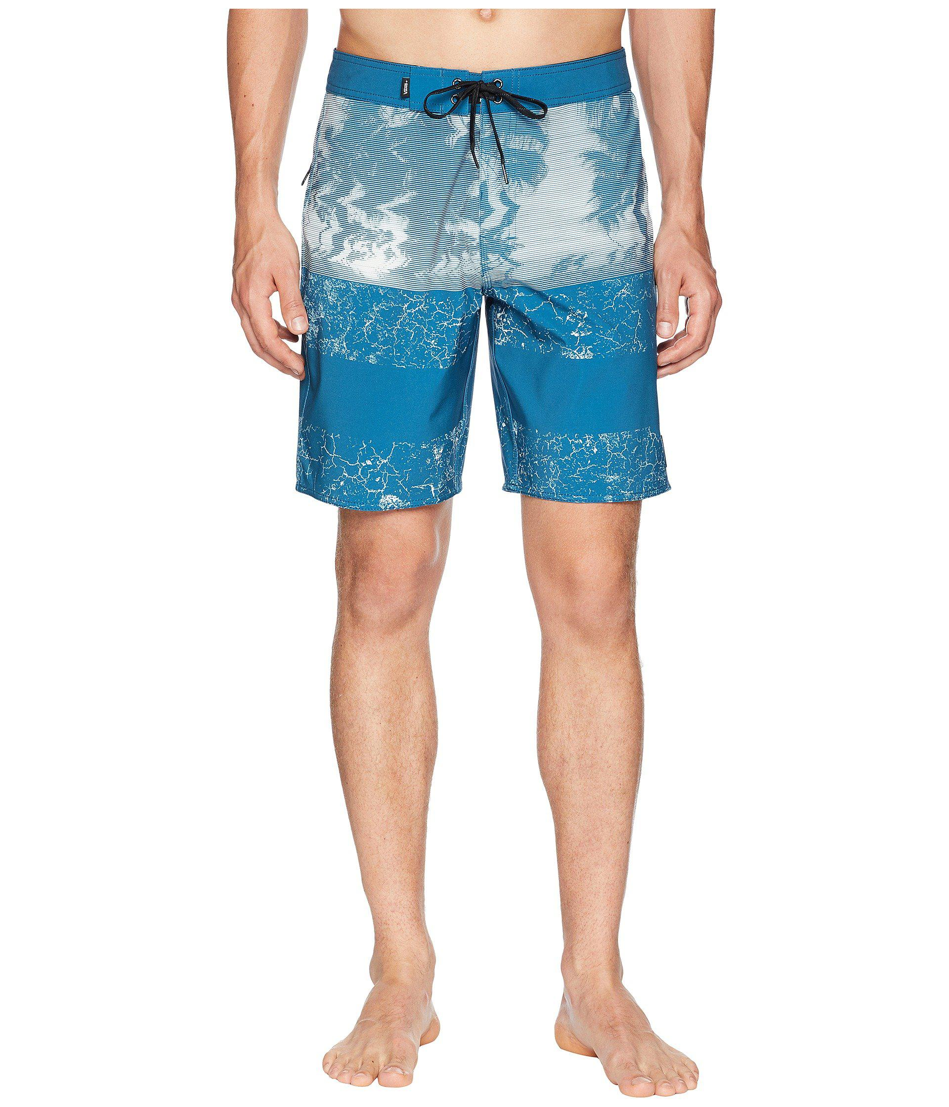 1a3ec33e2e Lyst - Vans Era Boardshorts 19 (corsair Glitch Palm) Men's Swimwear ...