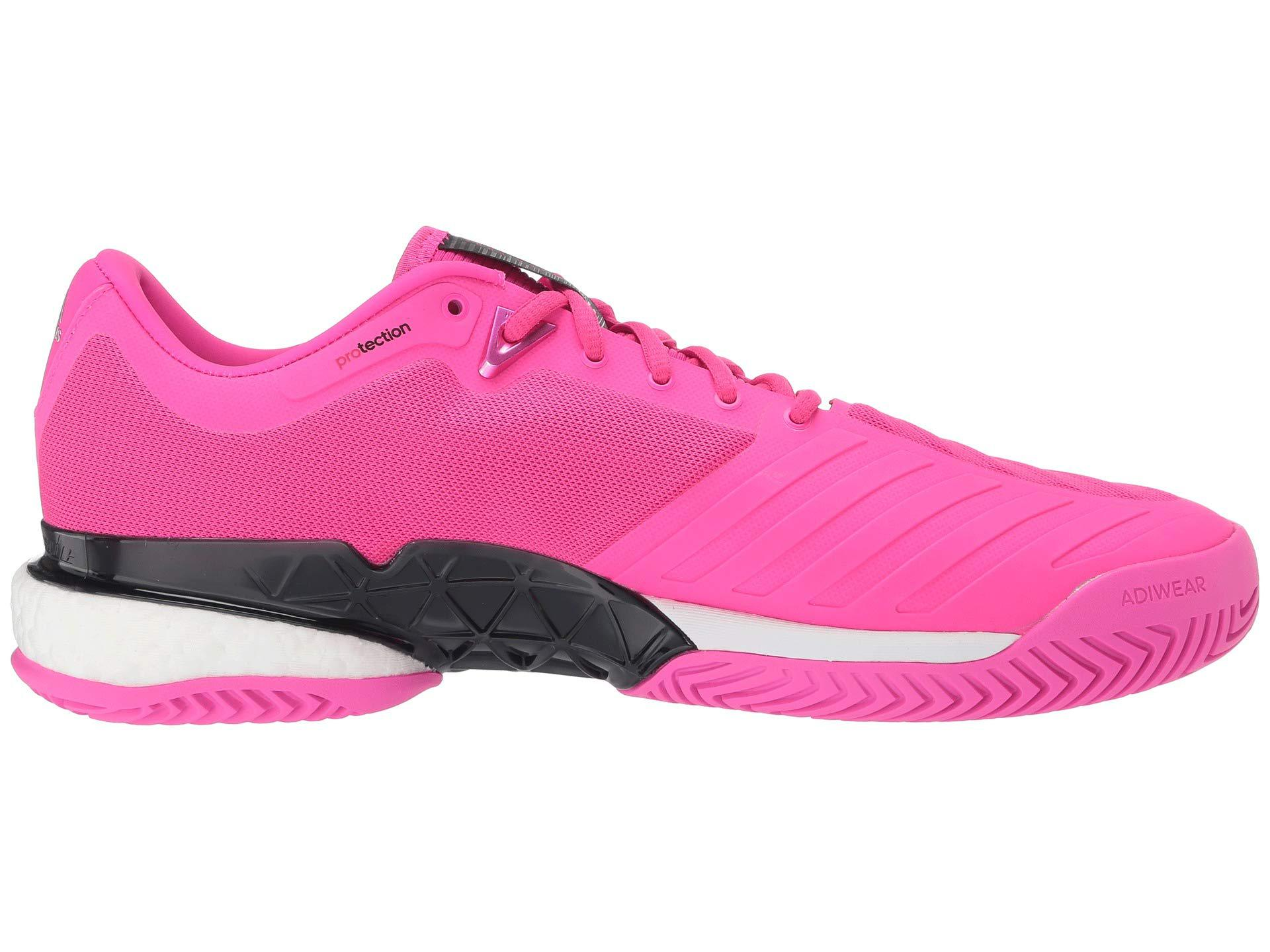 adidas Synthetic Barricade 2018 Boost (shock Pinkmatte