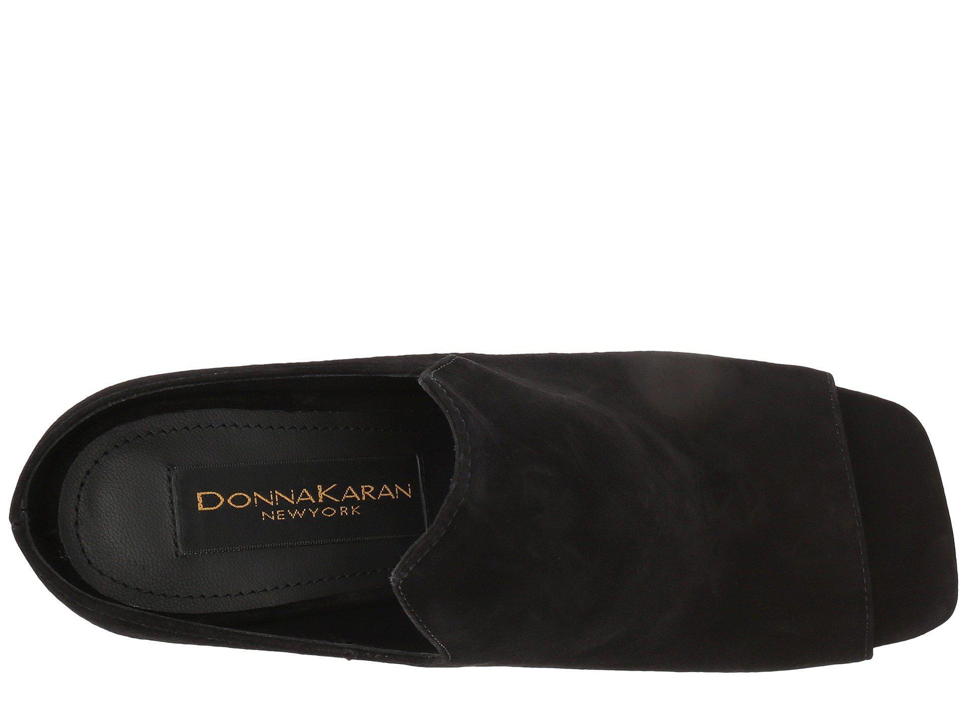 008e8d09dc9de Donna Karan Black Sutton Mule