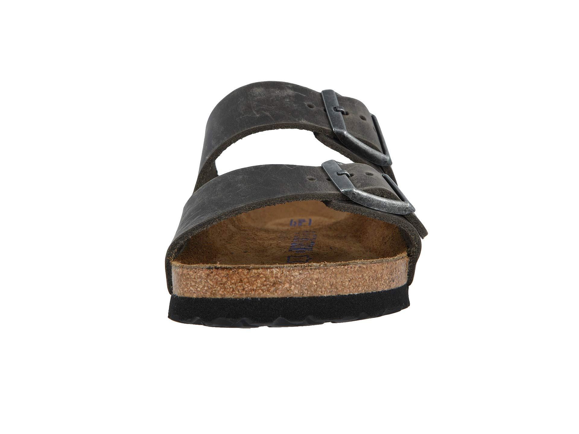 Birkenstock Arizona Soft Footbed Leather Unisex In