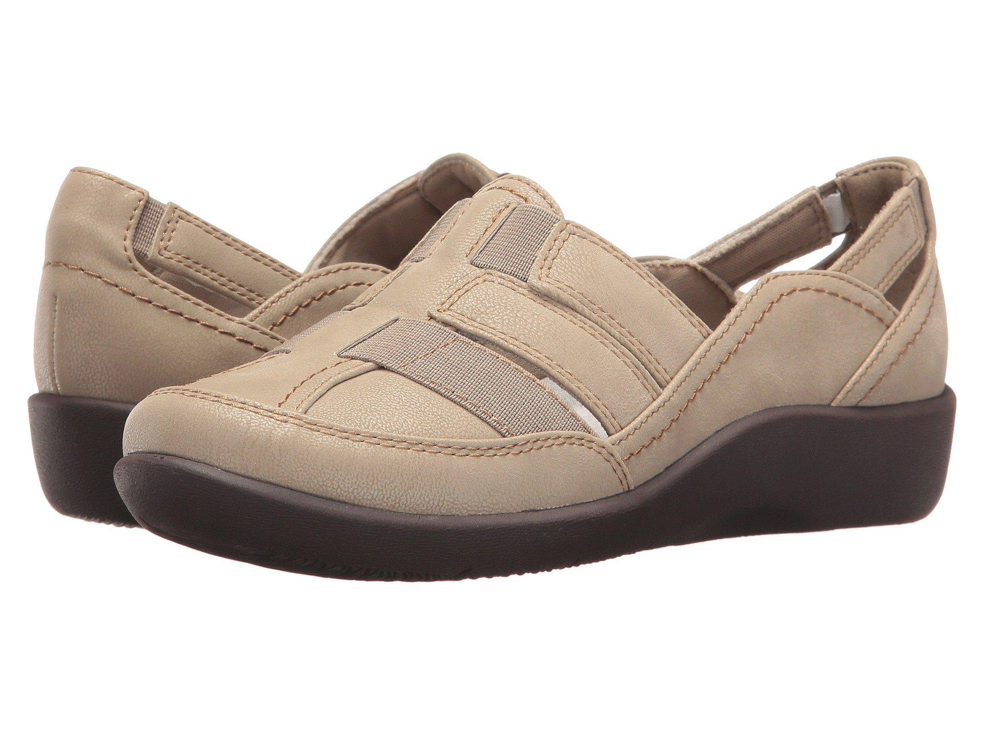 bba63cd6466 Lyst - Clarks Sillian Stork (navy) Women s Sandals in Brown