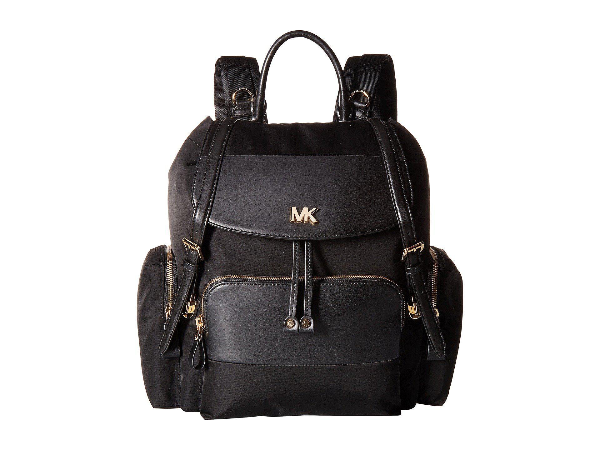 9d9305f79042 Lyst - MICHAEL Michael Kors Mott Large Flap Diaper Bag Backpack ...