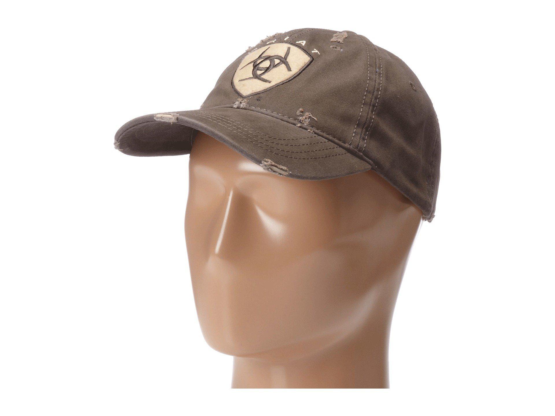 d5ff67e5a18d4 ... buy ariat. mens shield baseball cap 1ab97 09944