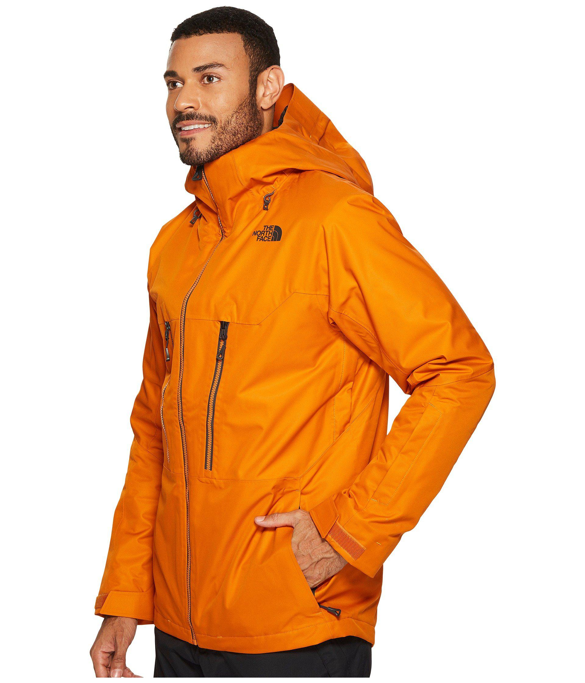 3c0512800 Men's Orange Thermoball Snow Triclimate Jacket