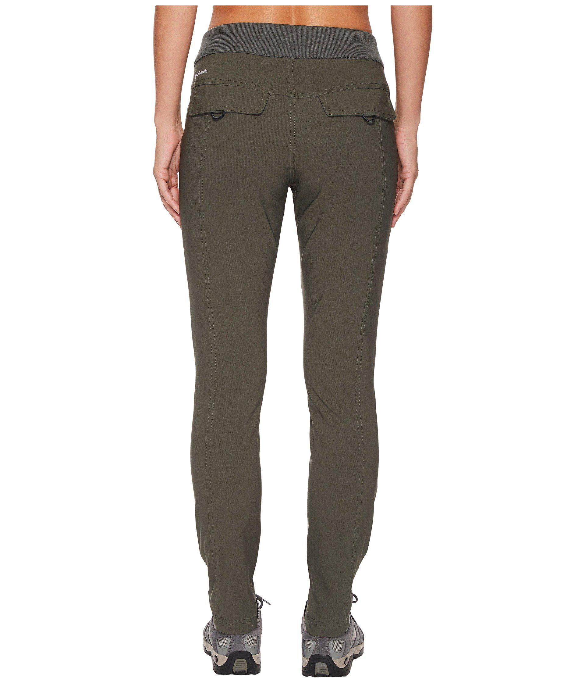 Columbia Womens Bryce Canyon Pant,Black,Small x Regular