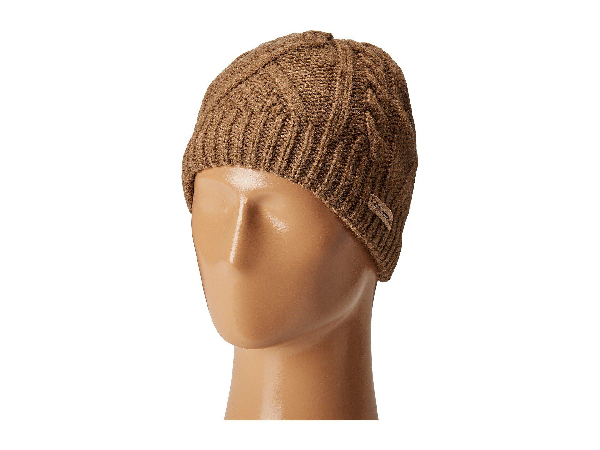 780d68a9aa1 Lyst - Columbia Cabled Cutietm Beanie (truffle) Beanies in Brown