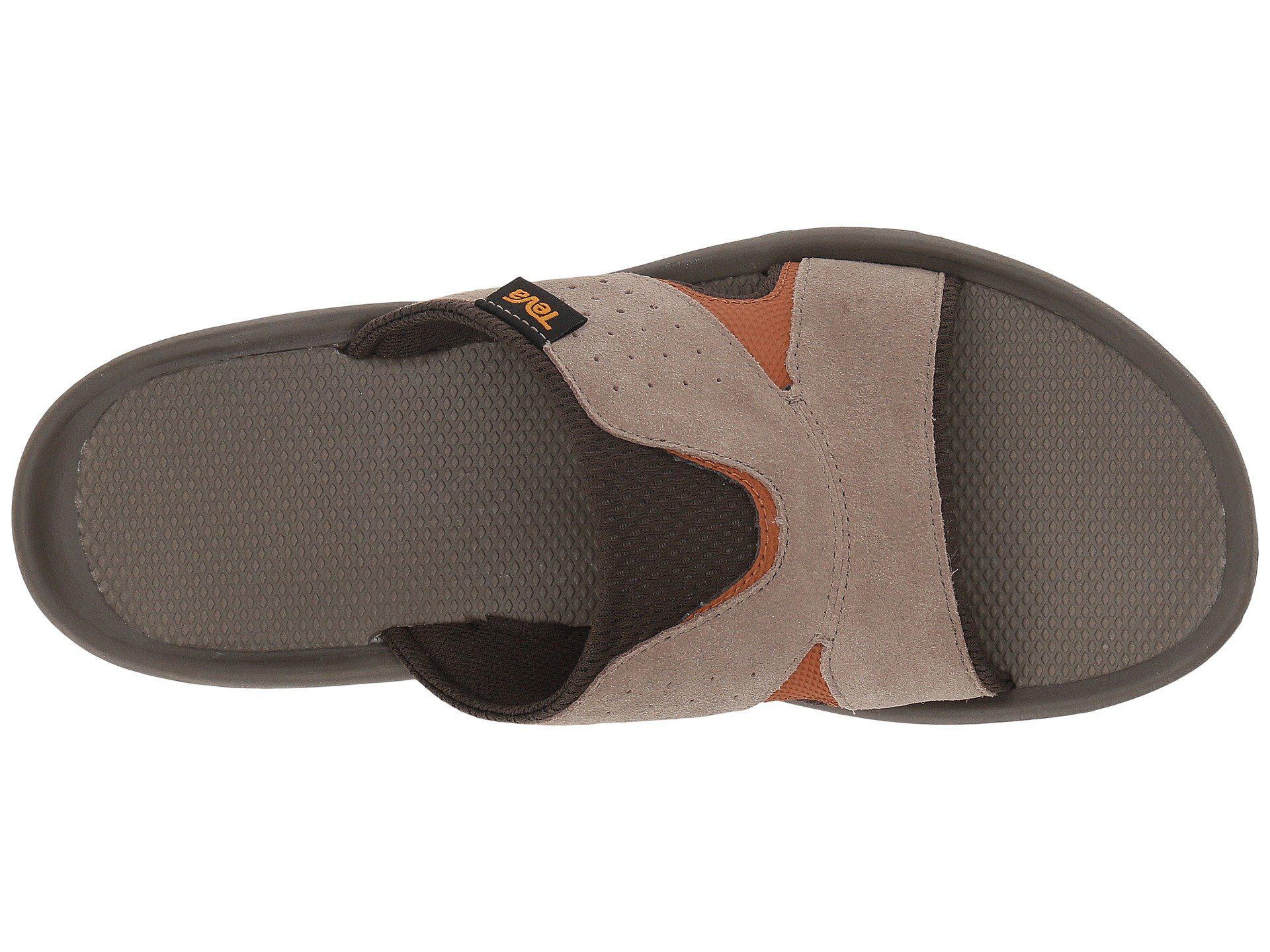 c3436da94873 Teva - Multicolor Katavi 2 Slide (walnut) Men s Slide Shoes for Men - Lyst.  View fullscreen