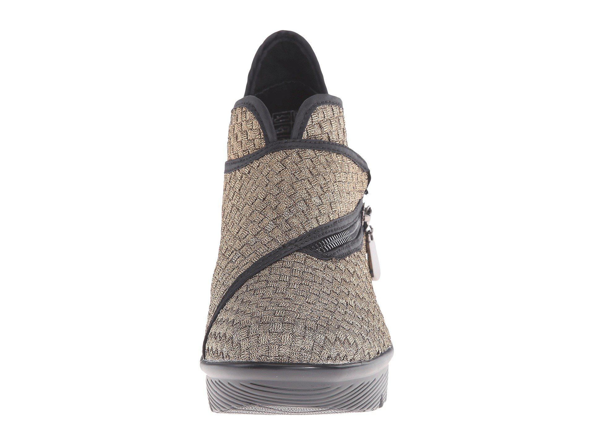 901200865488 Bernie Mev - Metallic Zigzag (black) Women s Wedge Shoes - Lyst. View  fullscreen