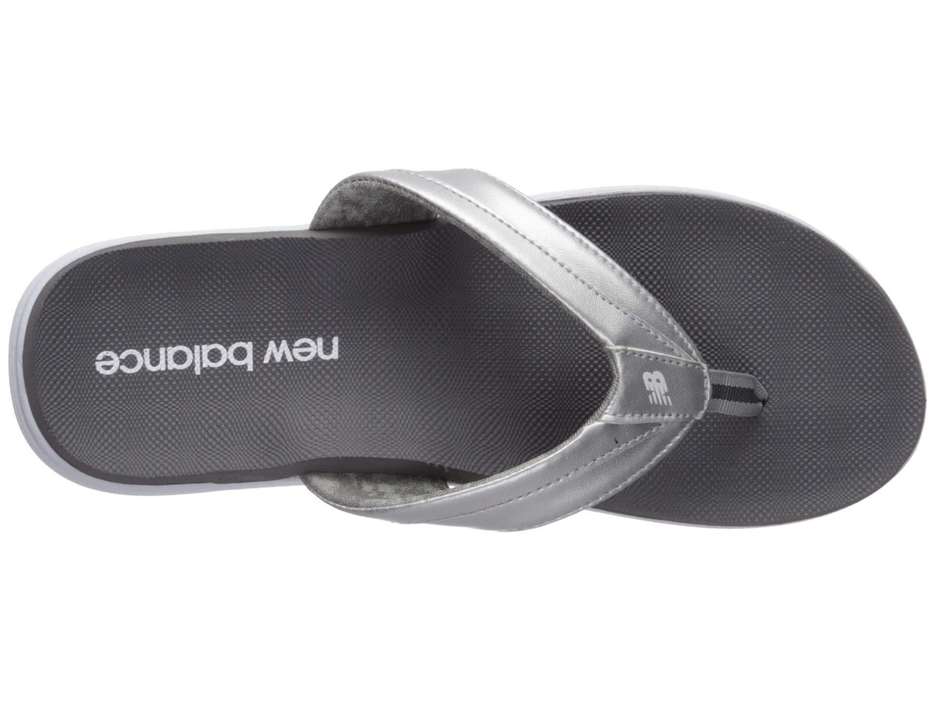 c0b638cdd1b New Balance - Jojo Thong (white black) Women s Sandals - Lyst. View  fullscreen