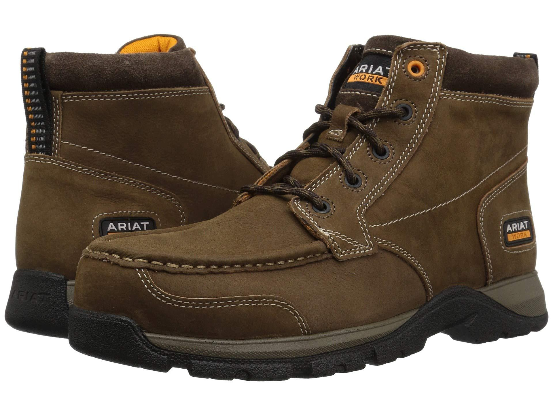 925c07e5936 Men's Brown Edge Lte Chukka Composite Toe