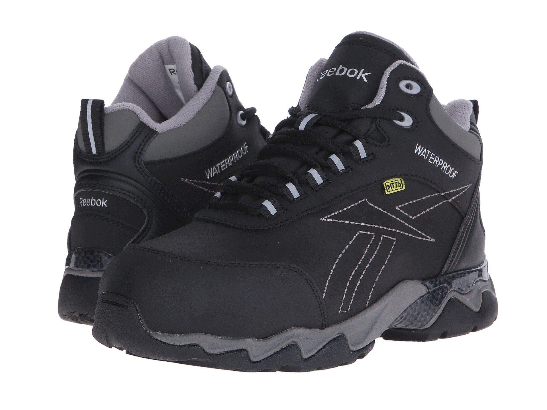 Lyst - Reebok Beamer (black) Men s Work Boots in Black for Men 755dfe030