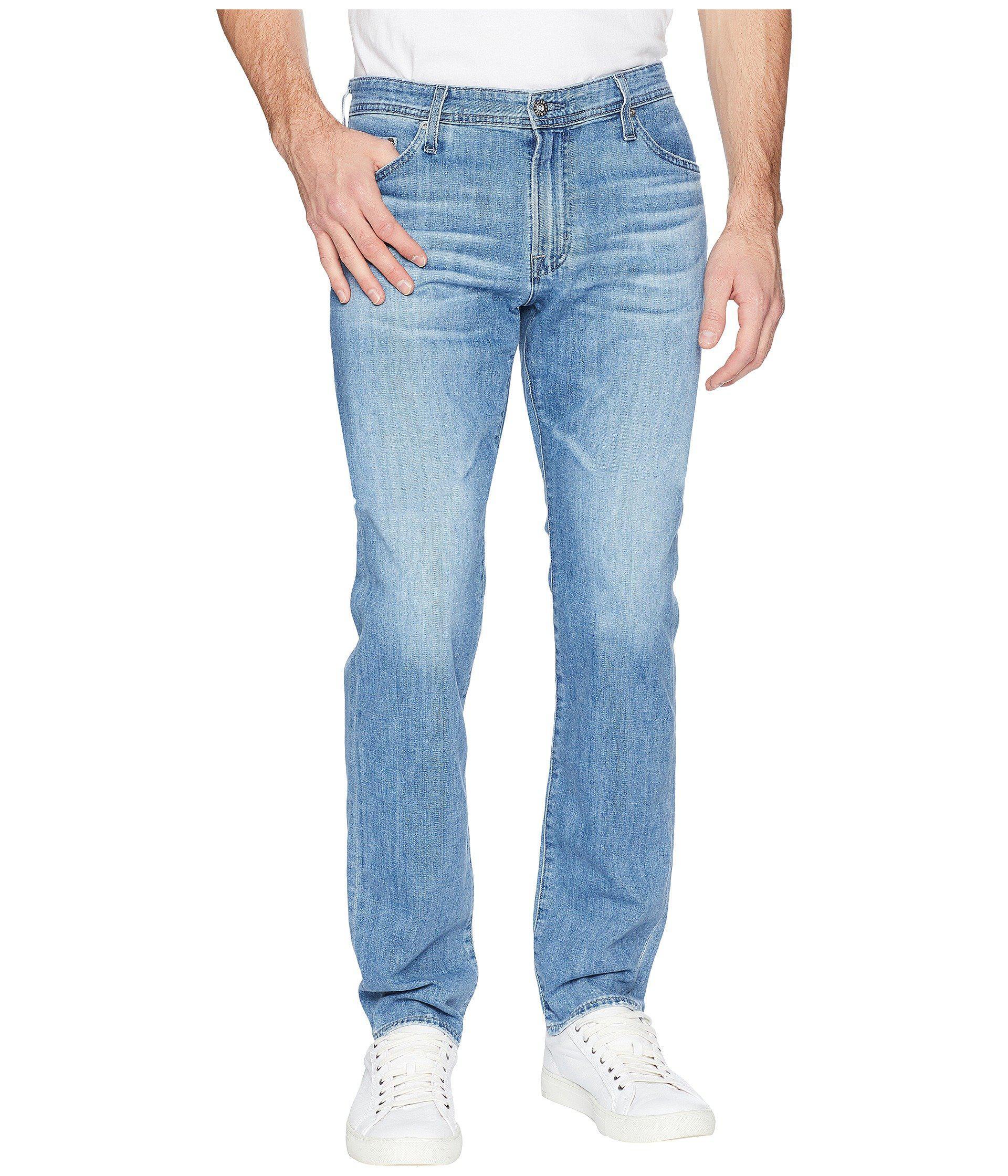 AG Adriano Goldschmied Mens The Graduate Tailored Leg Denim Jean